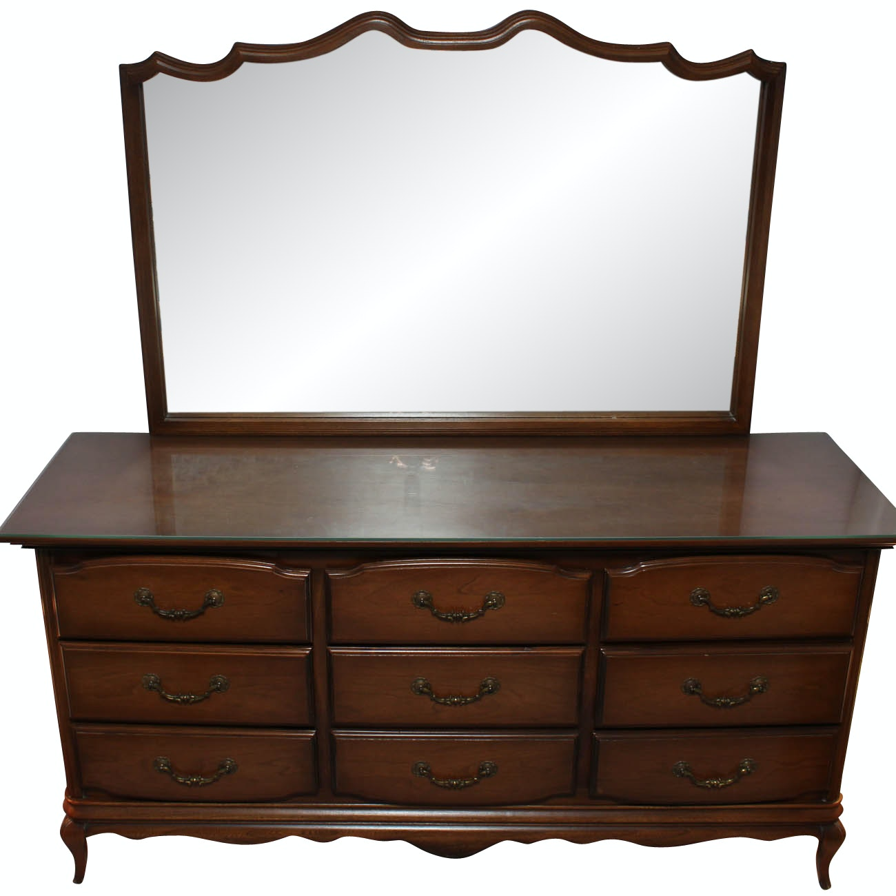 Hooker Furniture Chest of Drawers with Mirror
