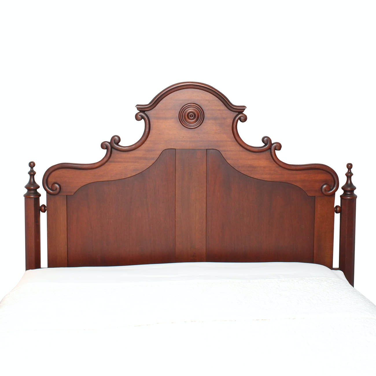 Antique Rococo Style Bed Frame
