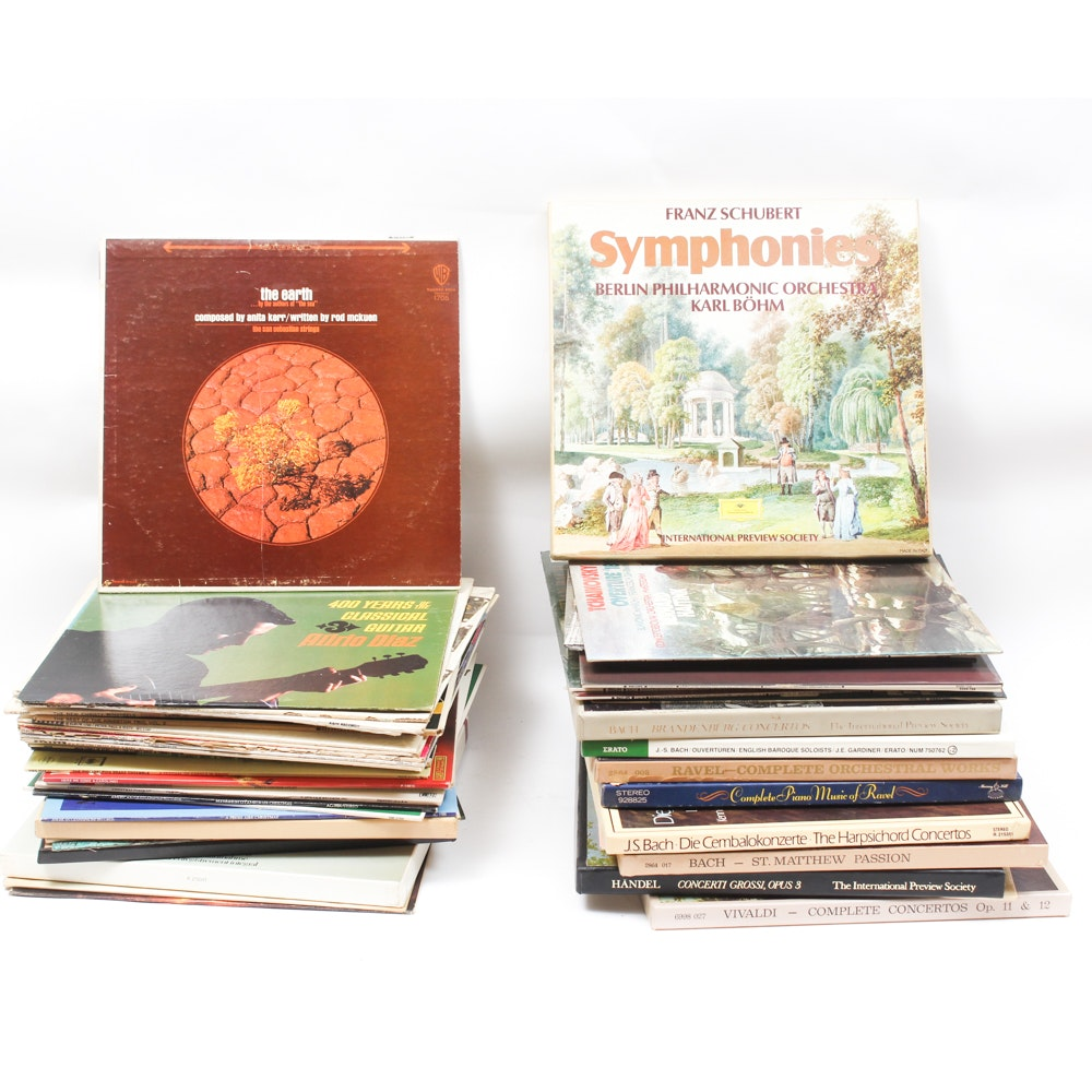 Vintage Classical Vinyl Records