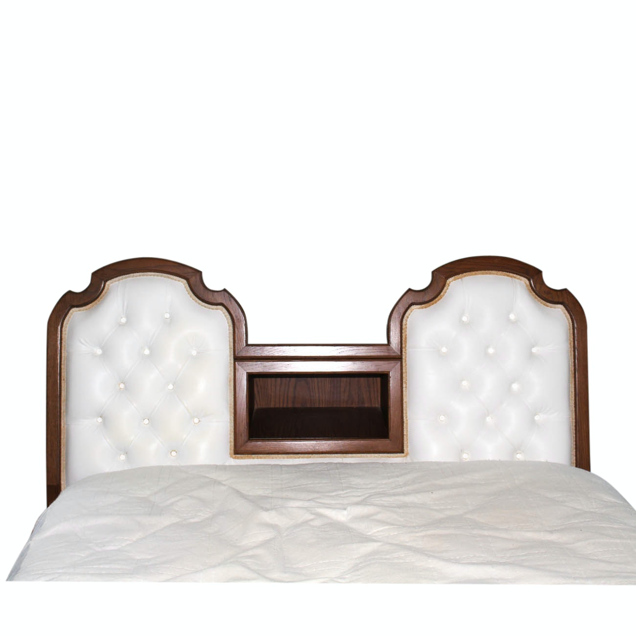 Vintage Upholstered Headboard
