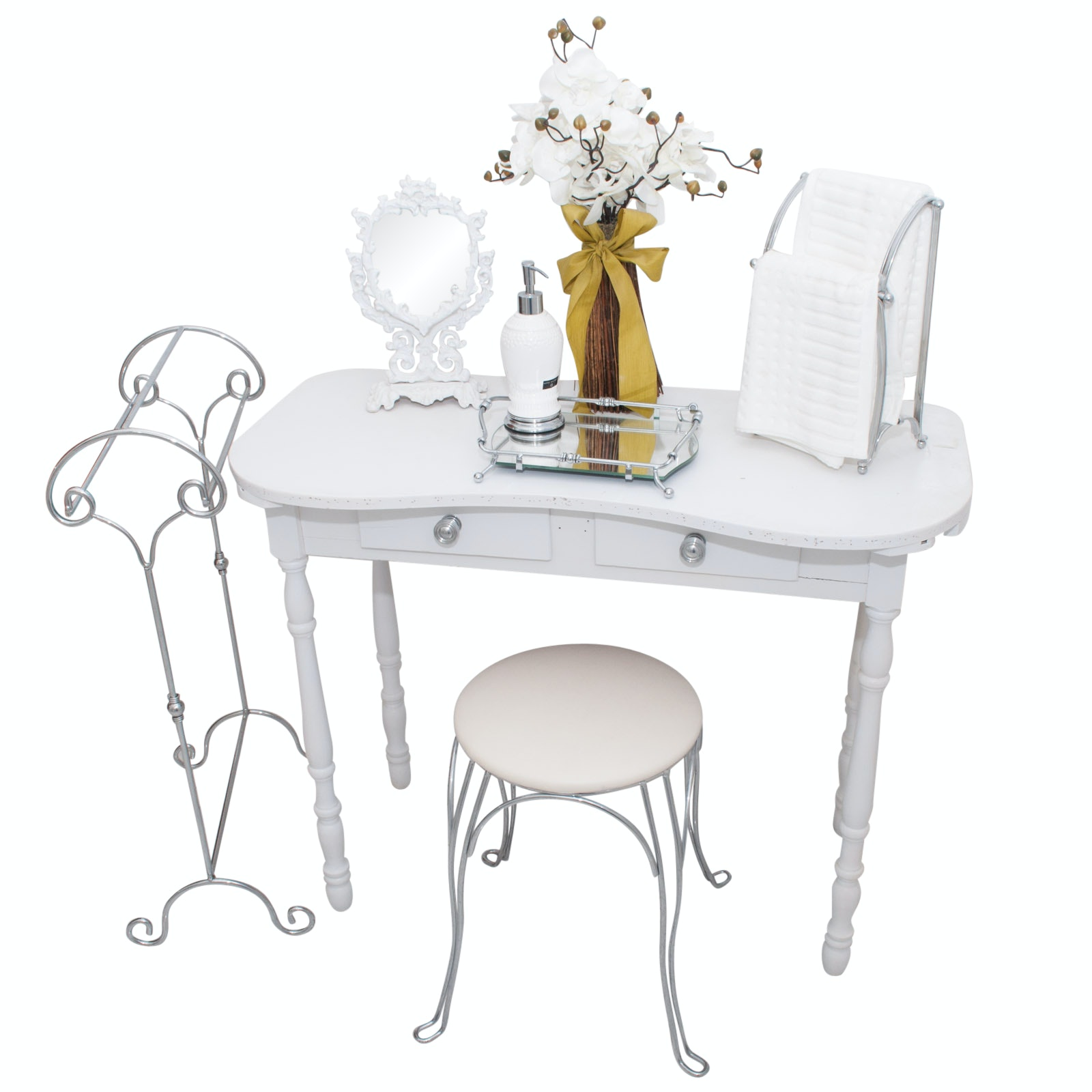 Dressing Table, Stool & Accessories