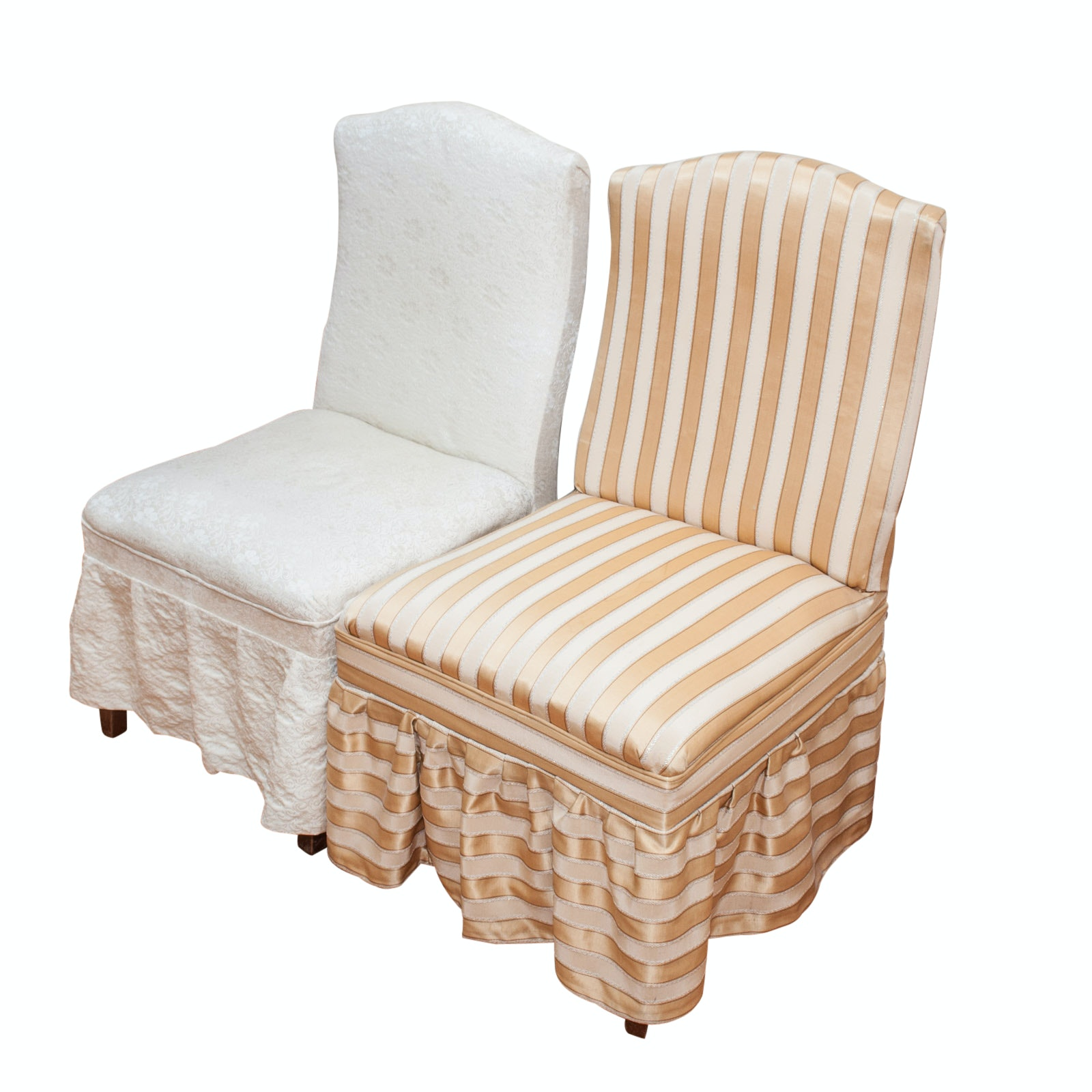 Pairing of Antique Parson's Chairs