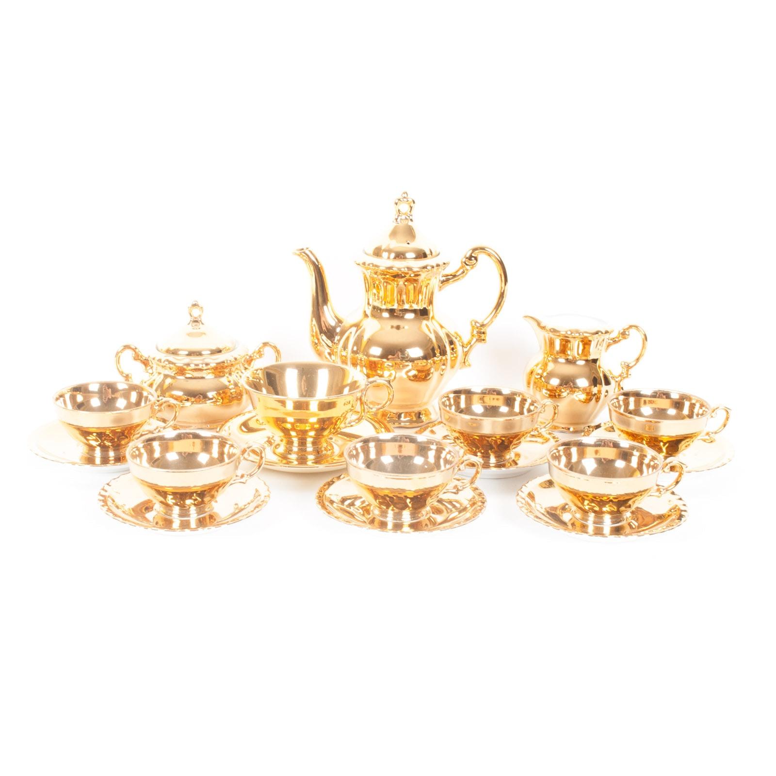 Original Arnart Creation of Japan Demitasse Tea Set