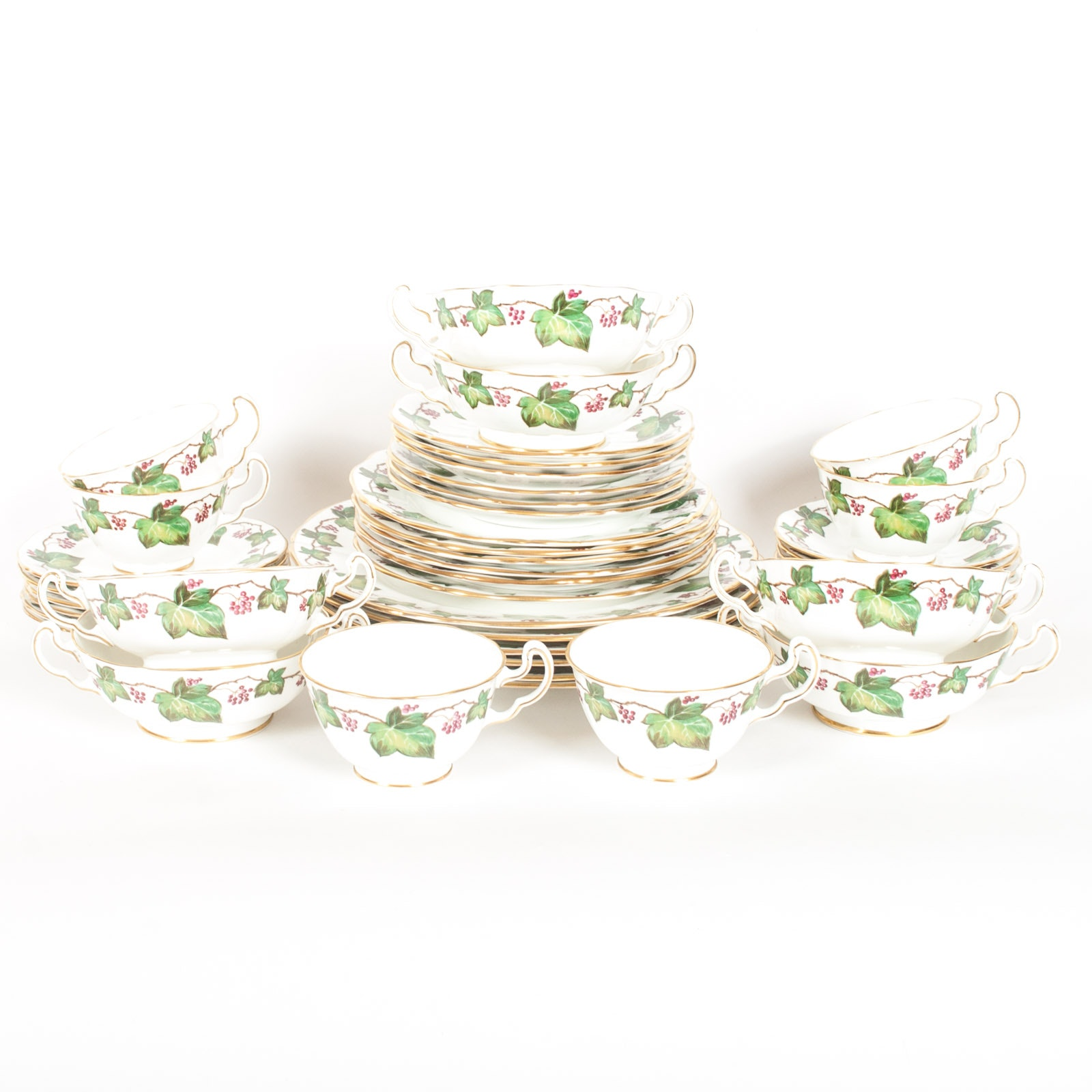 "Adderley ""Ivy"" Fine Bone China Dinnerware"