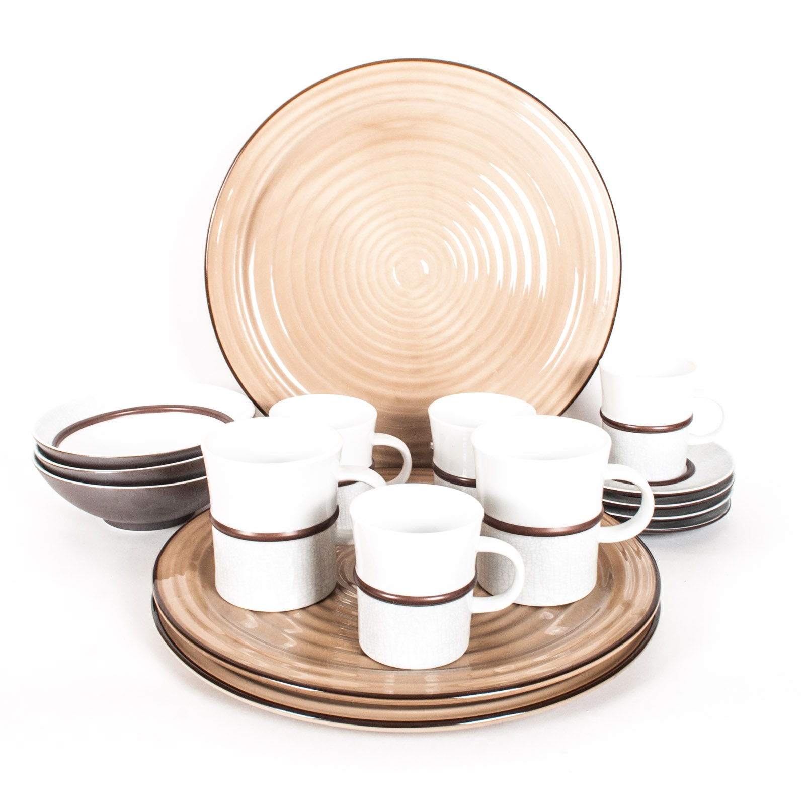 "Dansk ""Mettalise"" Tableware"