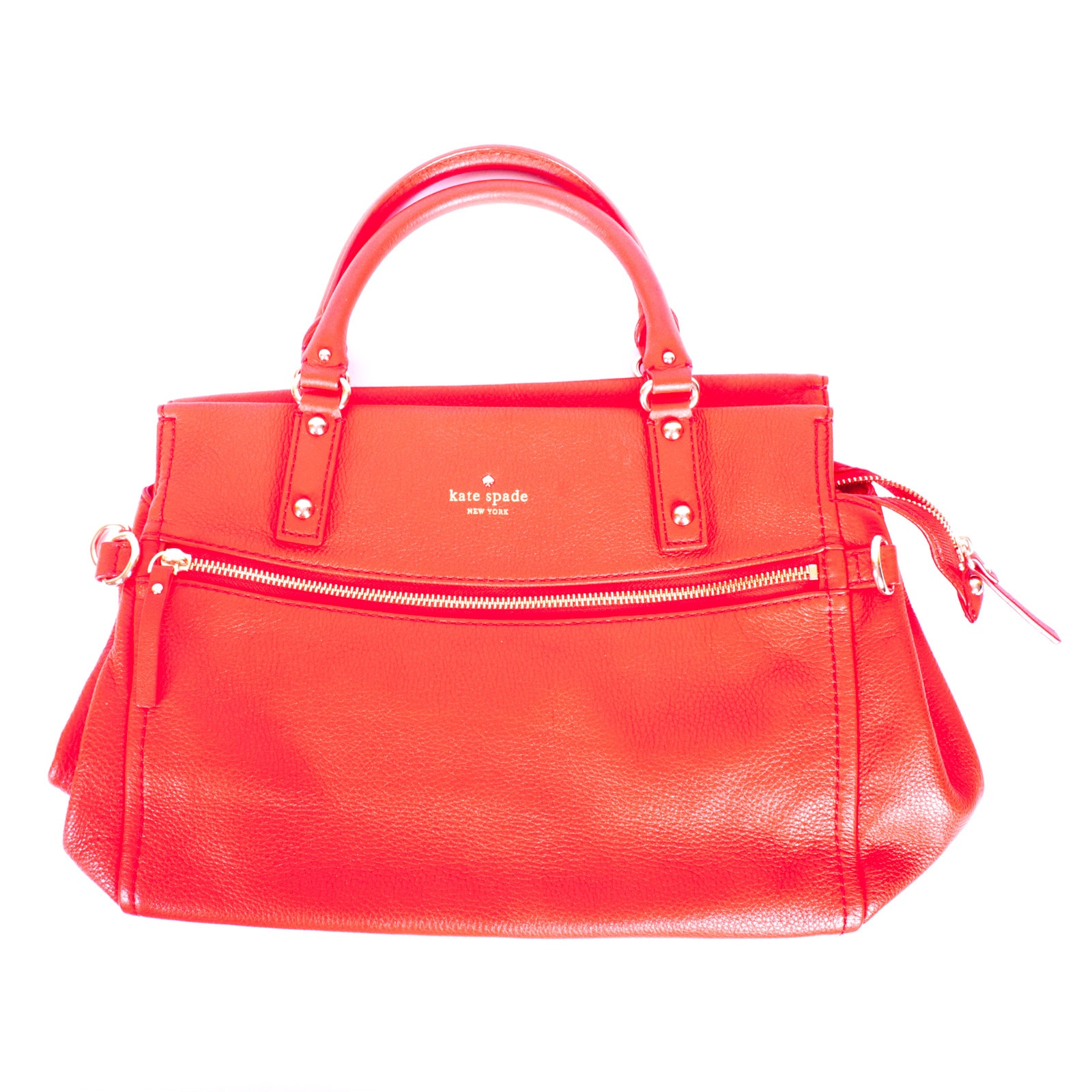 Kate Spade New York Red Leather Handbag