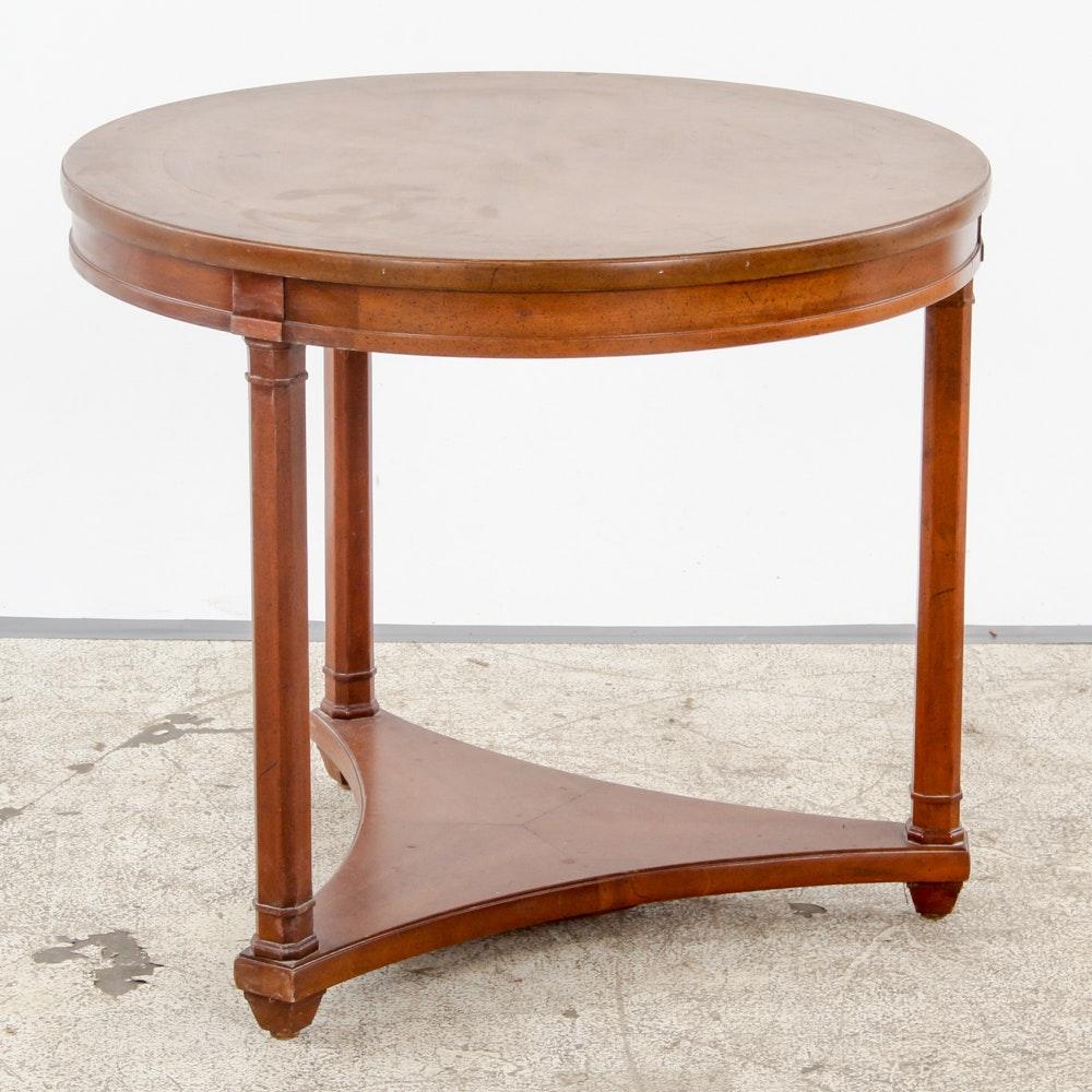 Circular Top Side Table