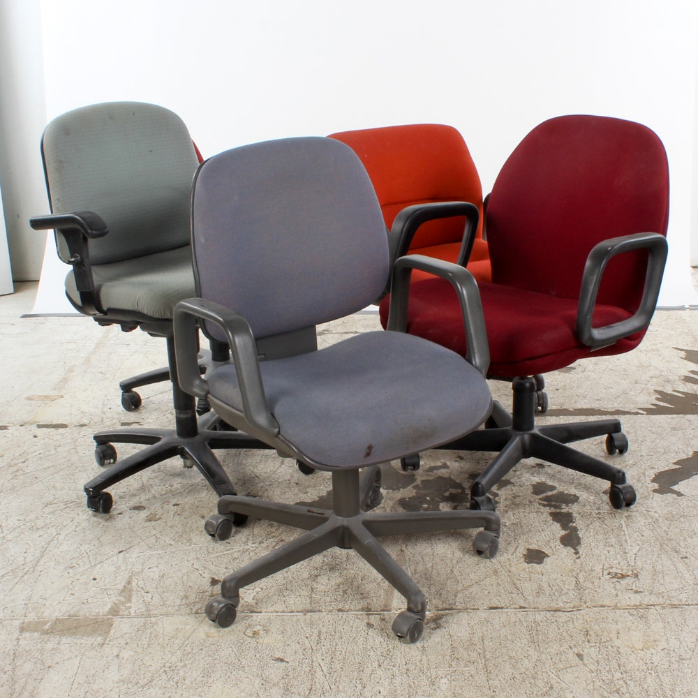 Vintage Rolling Office Chairs