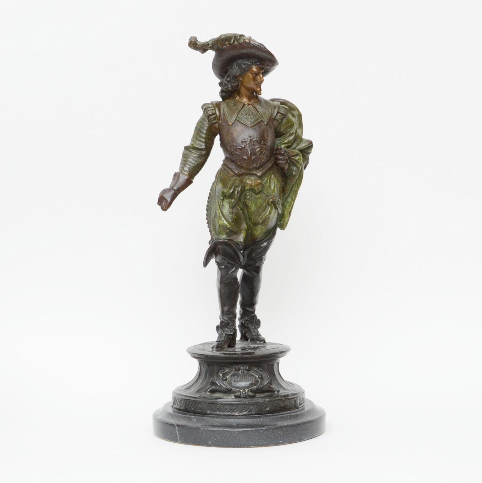 """19th Century  """"Vendome"""" Statue"""