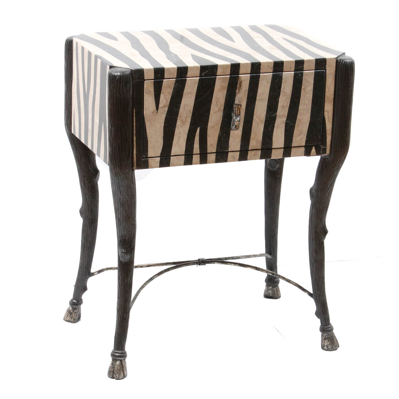 Zebra Side Table ...