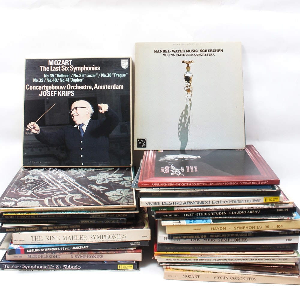Classical Vinyl Records