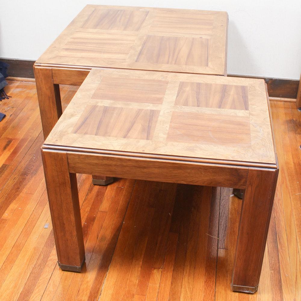 Hardwood Veneer Coffee and Side Tables