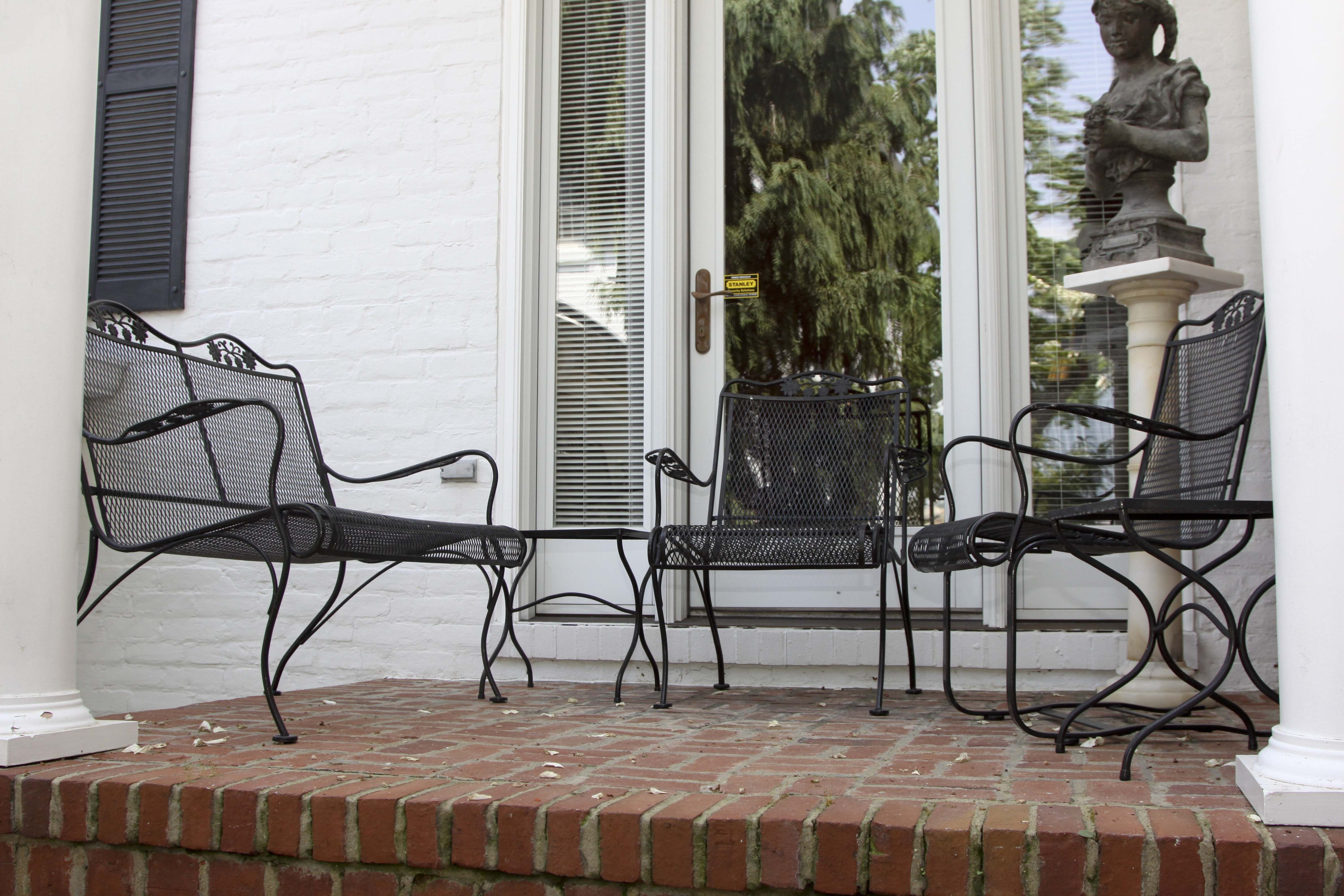 Woodard Wrought Iron Outdoor Patio Set