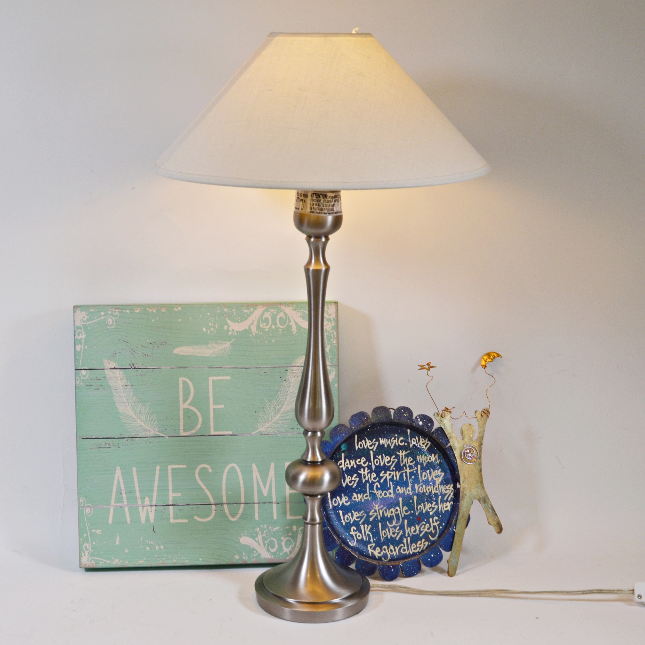Pottery Barn Table Lamp And Other Room Decor Ebth
