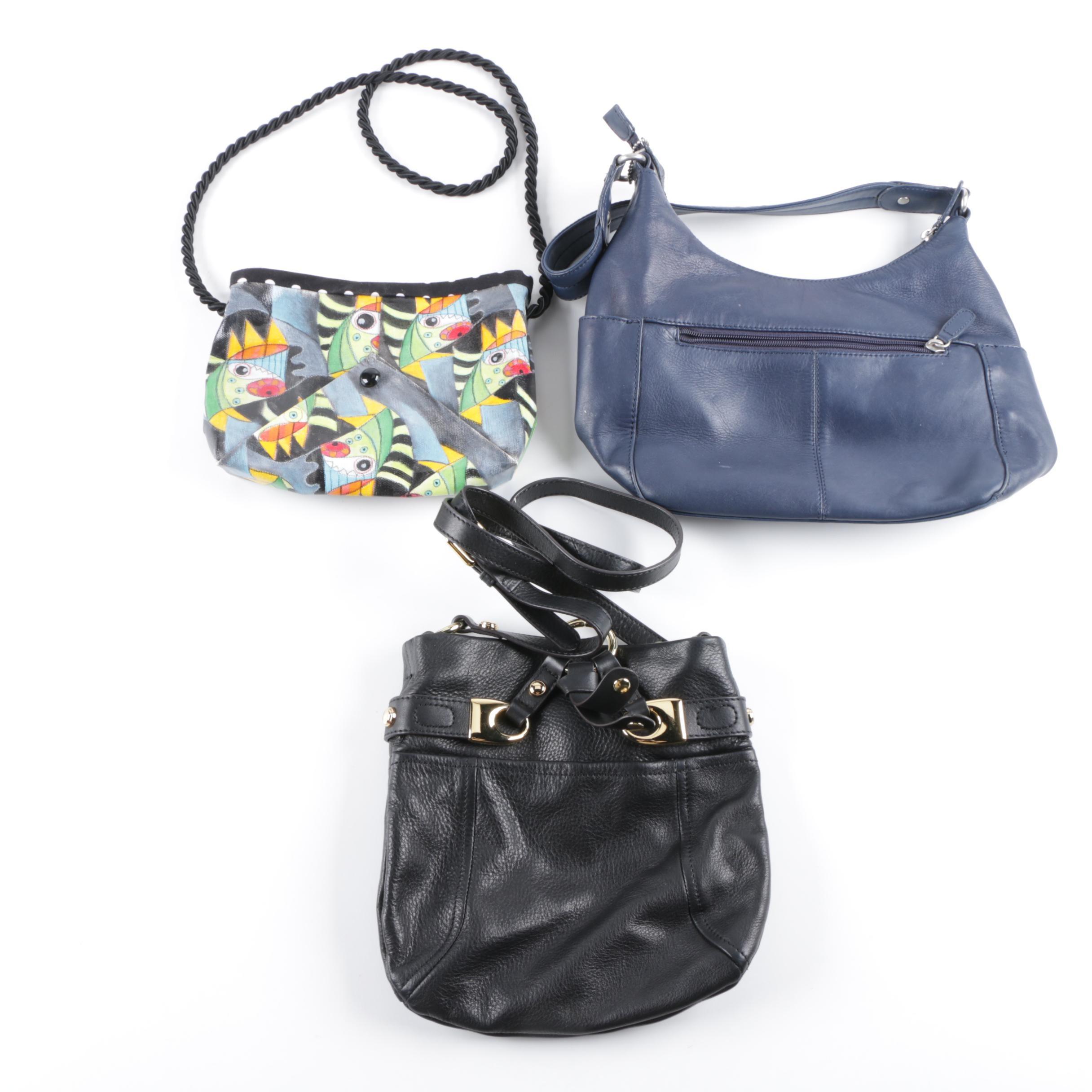 Shoulder Bags Including B. Makowsky, Aye 4 Art Robin West and St. John's Bay