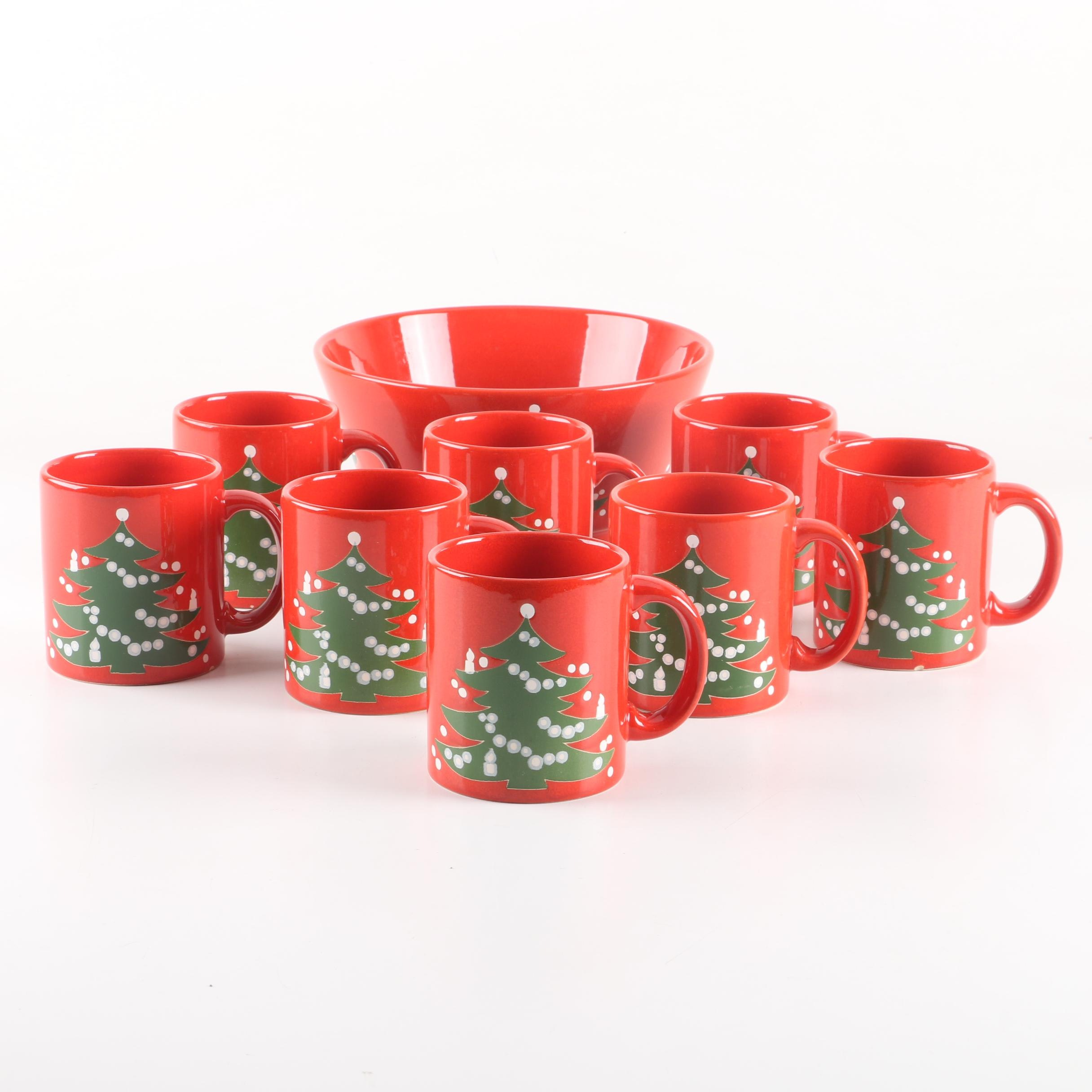 "Waechtersbach ""Christmas Tree"" Serveware"