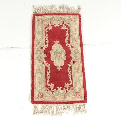 Royal Palace Tufted Wool Area Rug Ebth