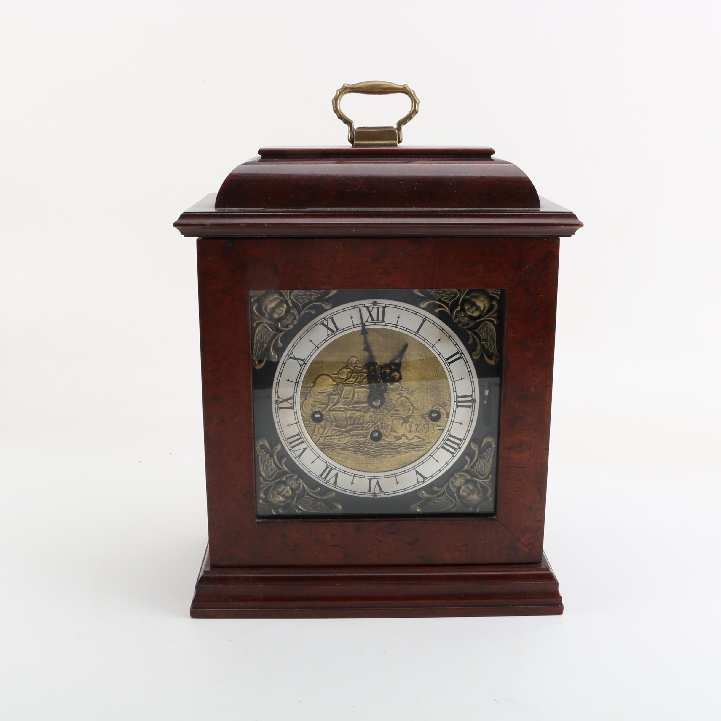 Wuersch Wood Carriage Clock