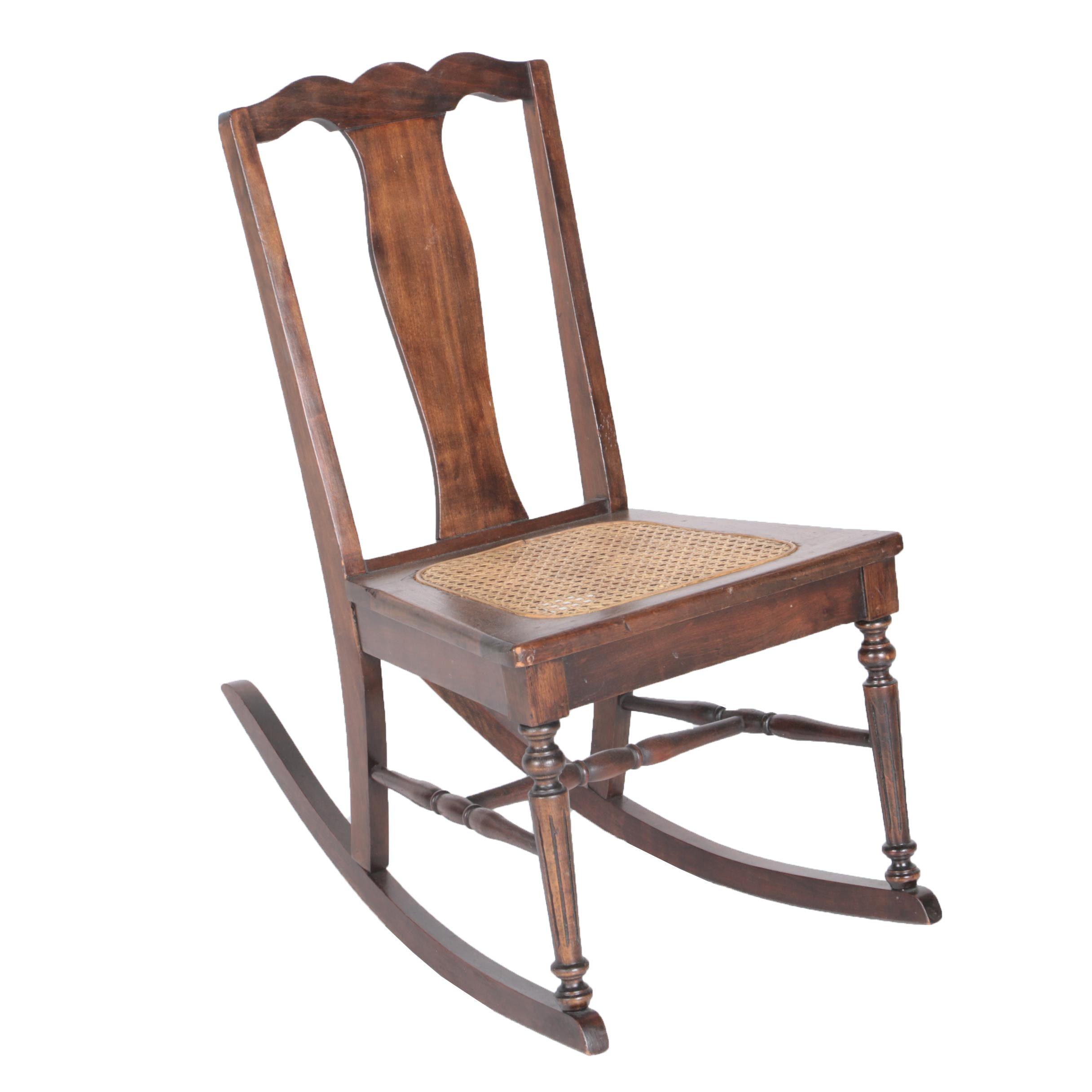 Child Size Vintage Rocking Chair