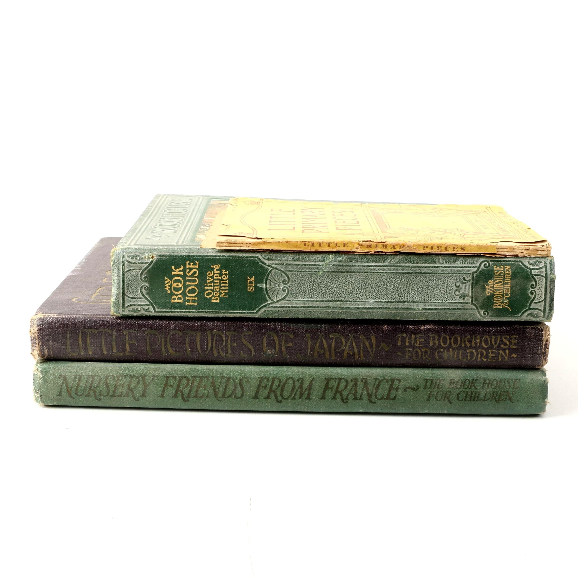 "Children's Books Including 1920s ""My Travelship"" Volumes"