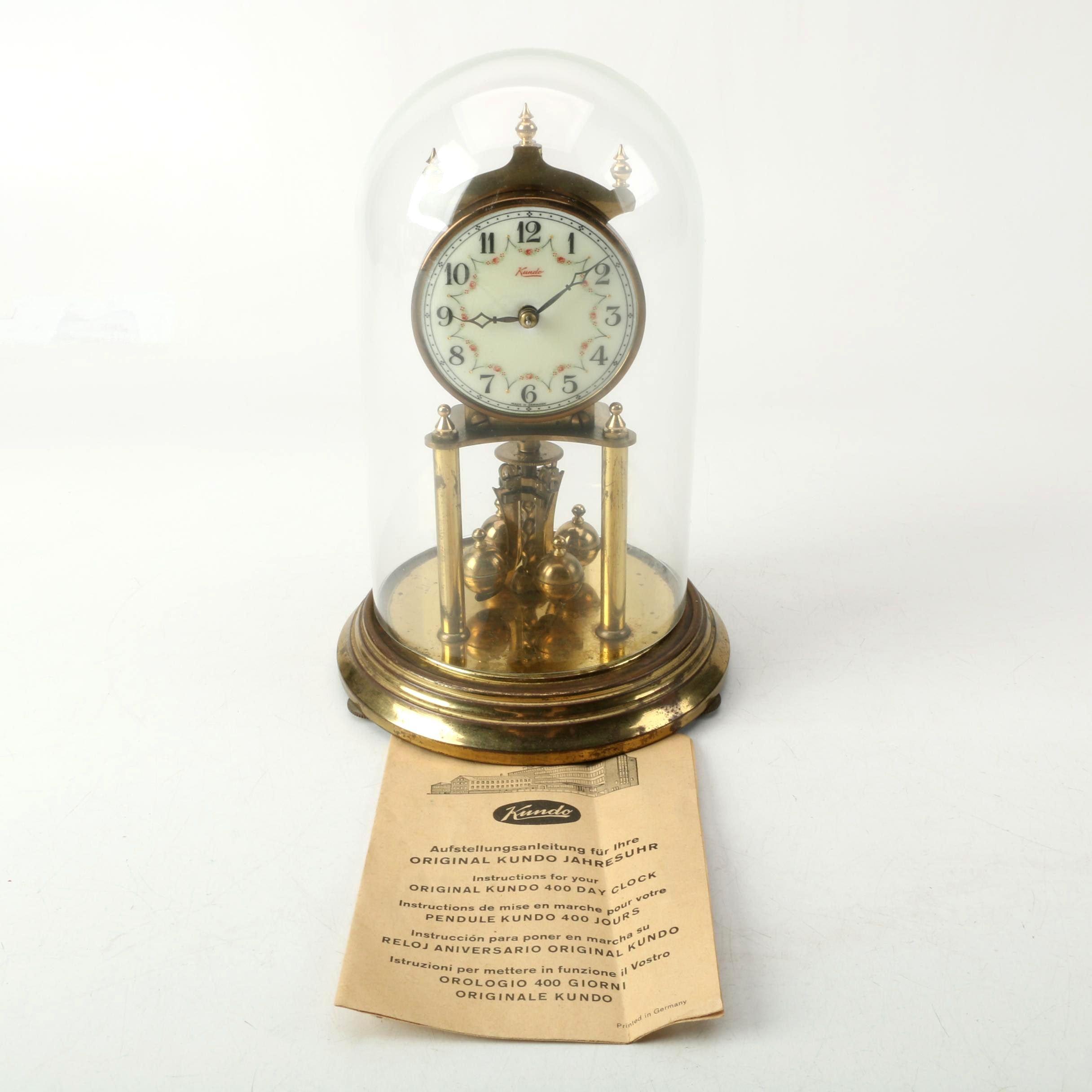 Kundo German Anniversary Clock