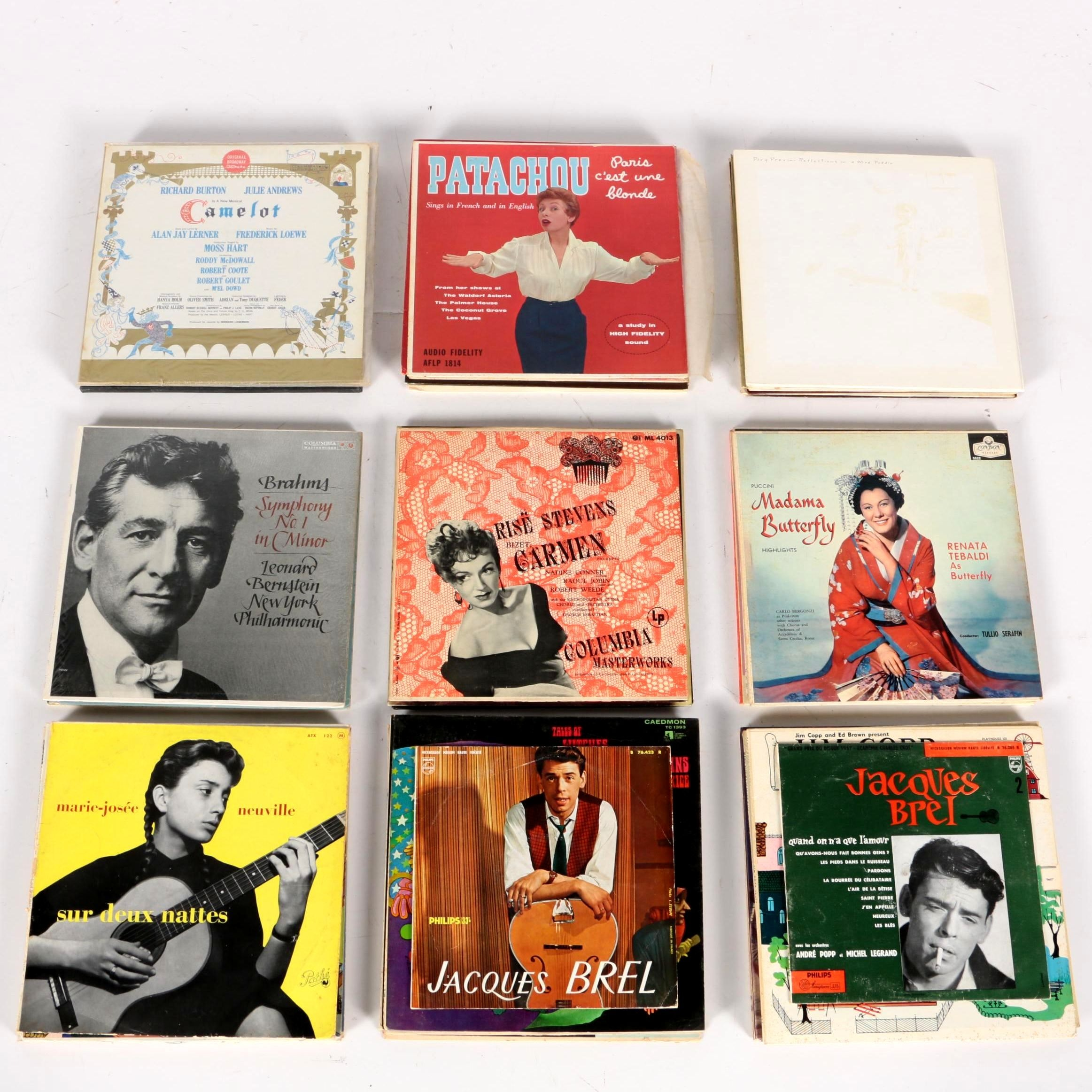 Classical and Opera Records, Including Works by Puccini, Bizet, Brahms and More