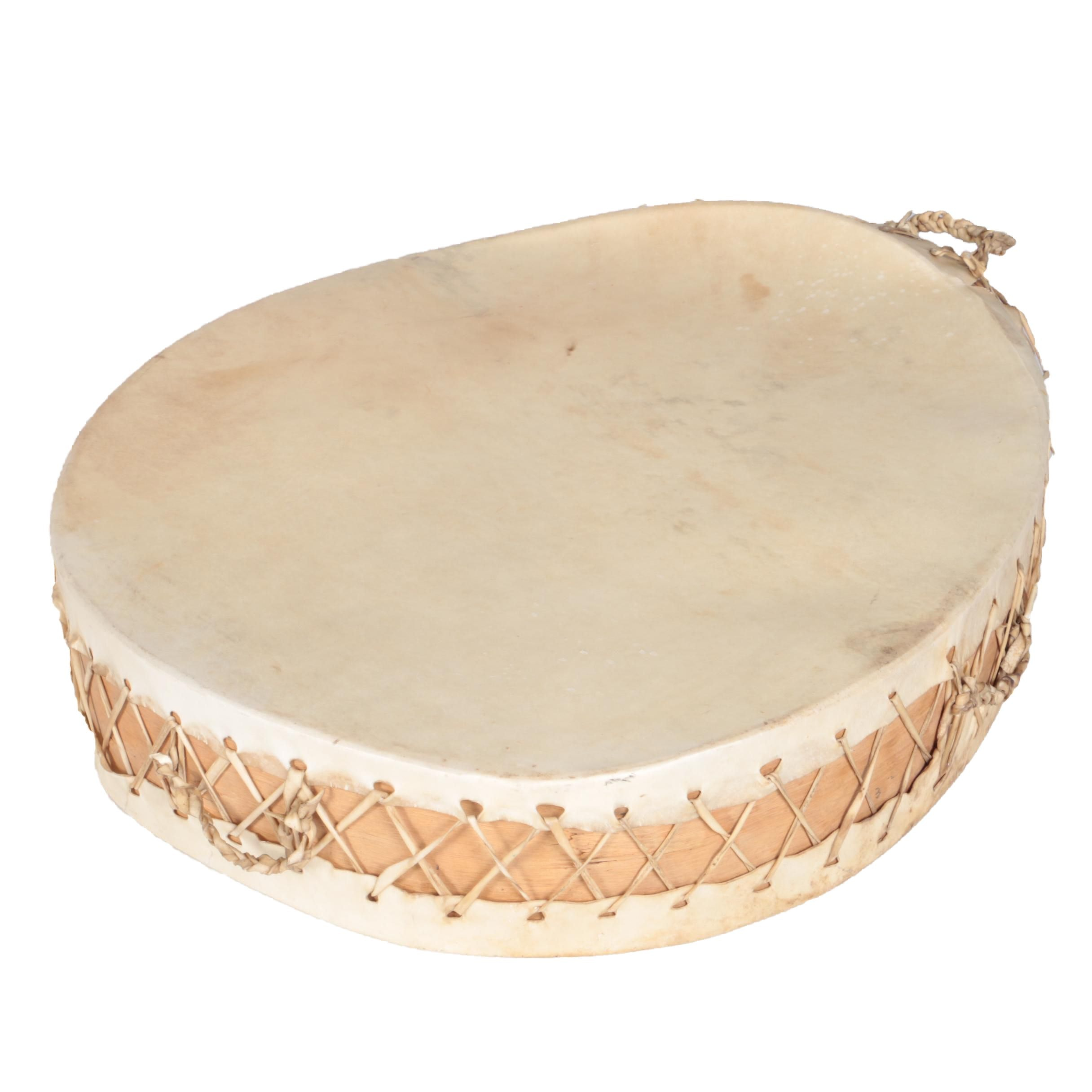 Native American Style Double-Sided Frame Drum