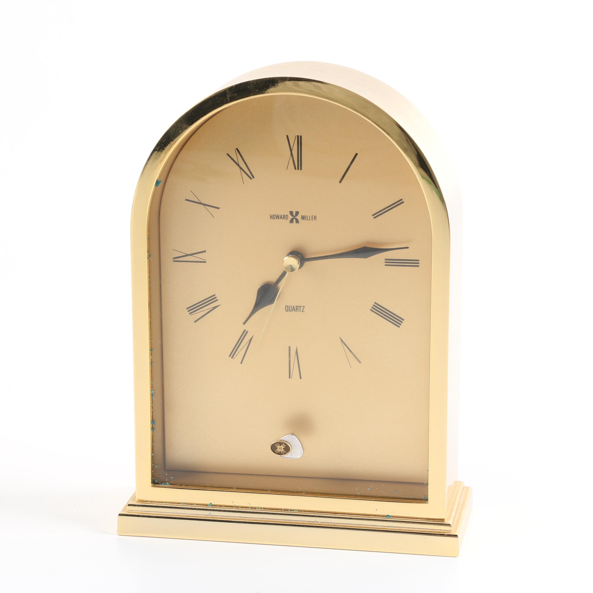 Howard Miller Beehive Quartz Shelf Clock