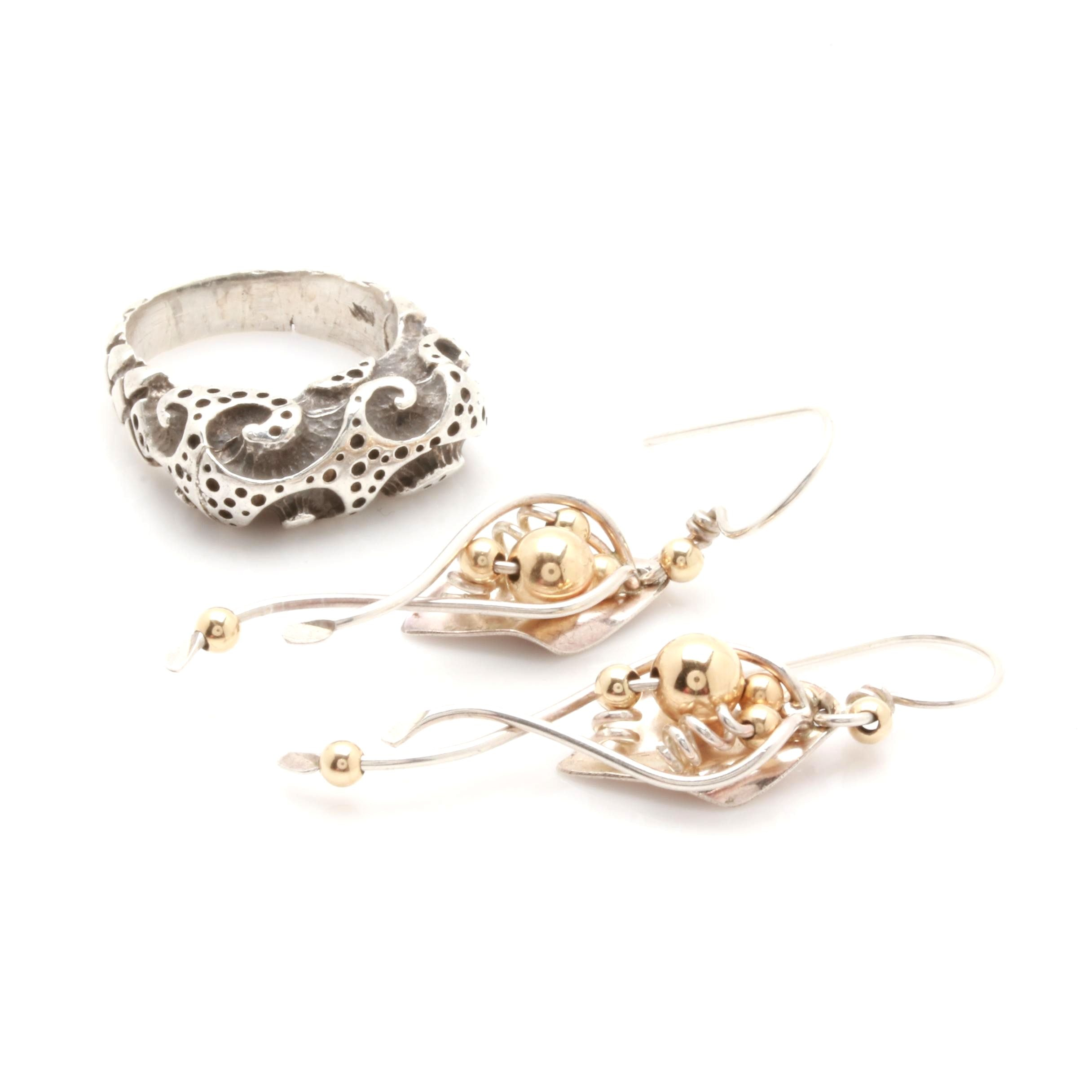 Sterling Silver Jewelry Selection Featuring Dian Malouf and Ladda Bihler