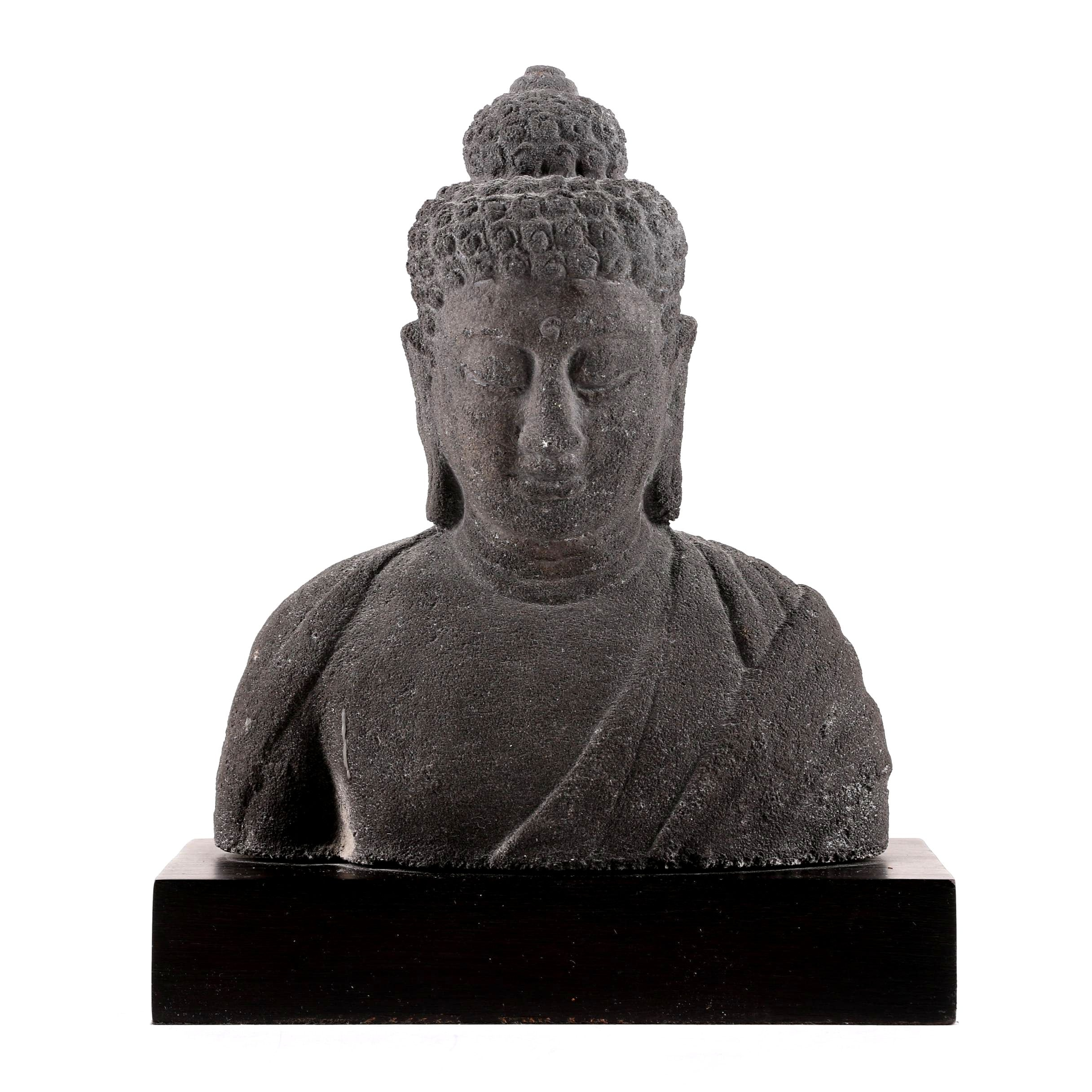 Resin Buddha Bust