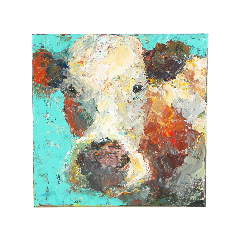 Elle Raines Oil Painting