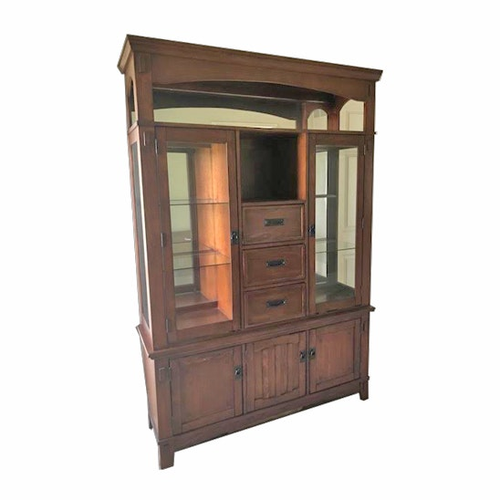 Ashley Furniture Lighted Display Cabinet