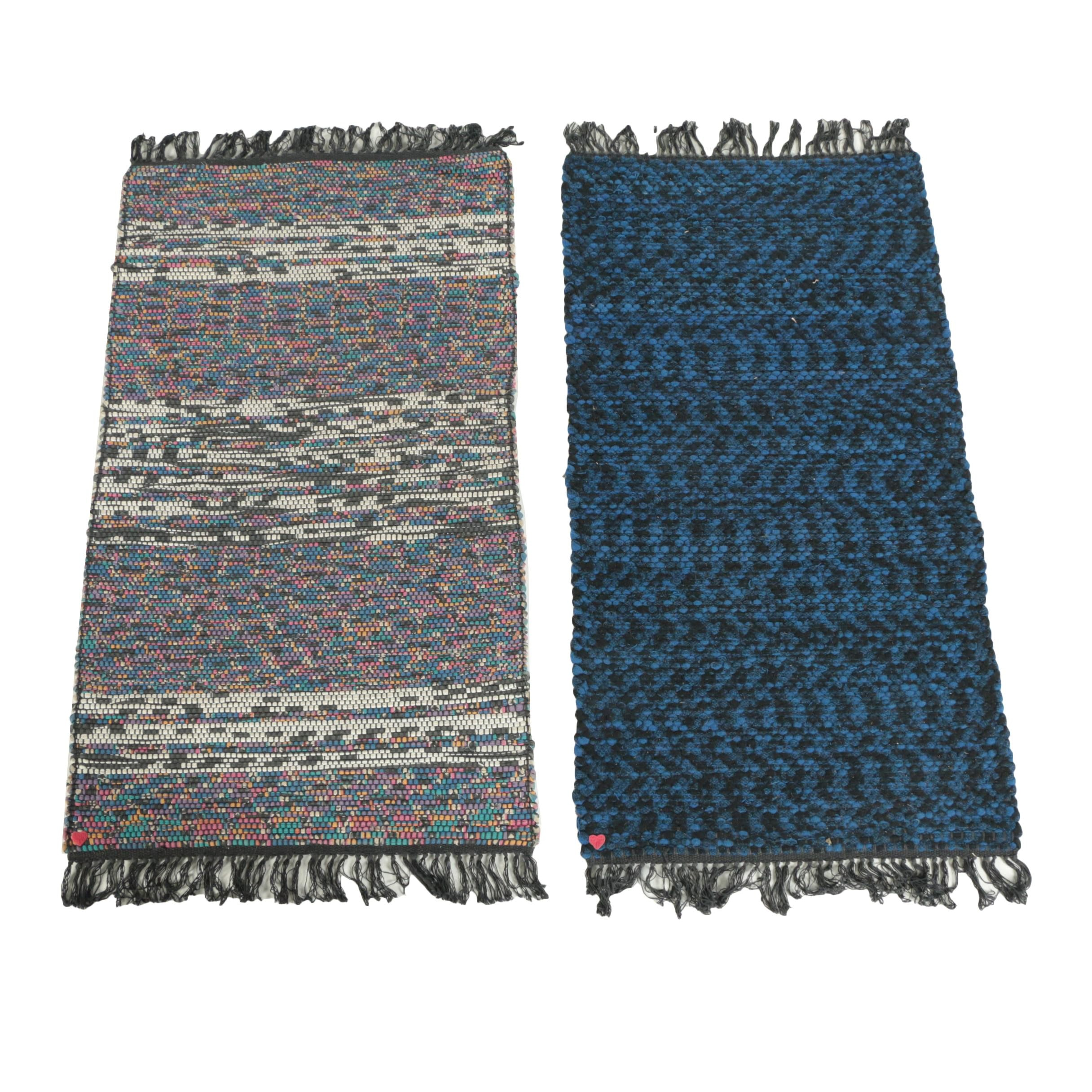 Handwoven Accent Rag-Rugs by Vermont Rugmakers