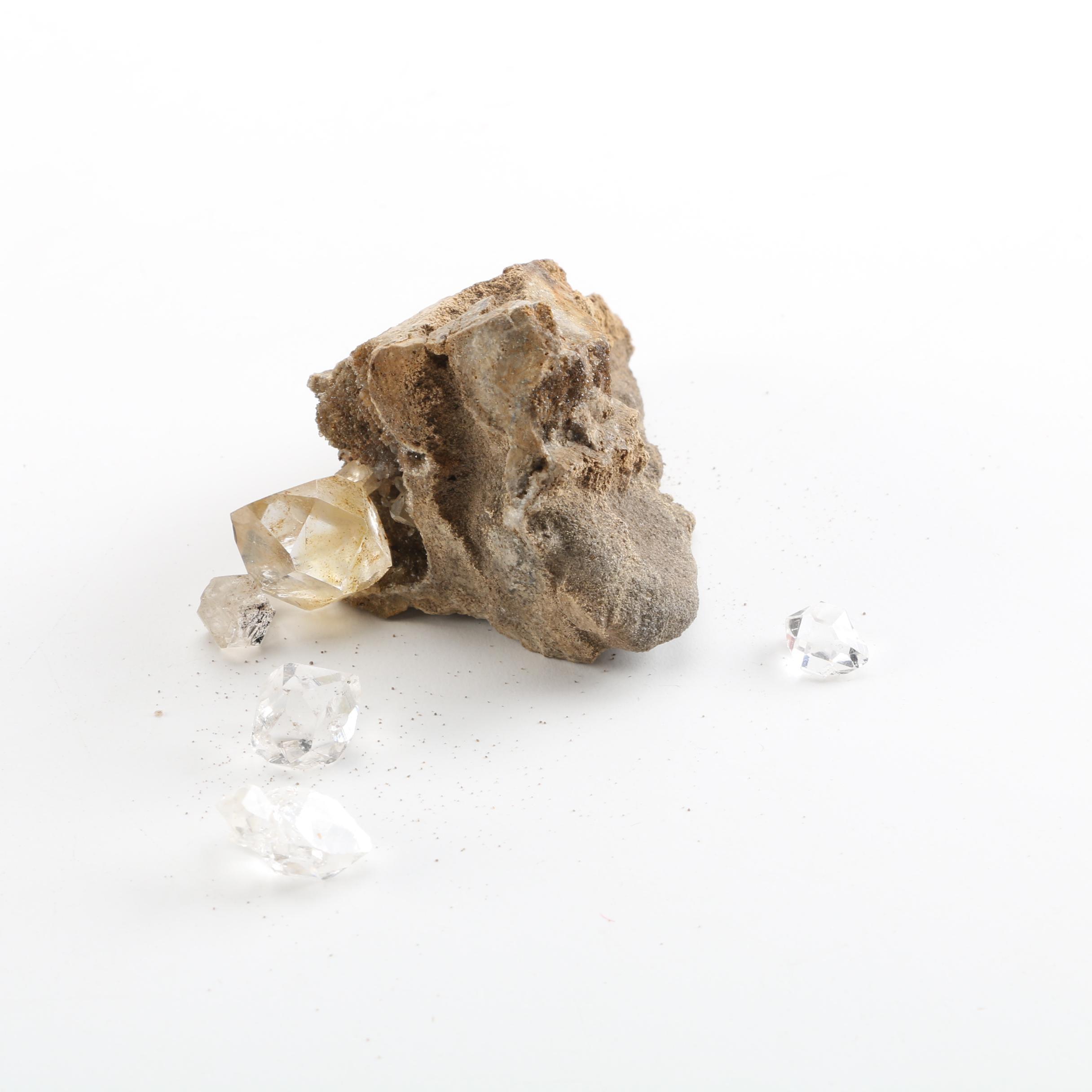Quartz Herkimer Diamond Specimens