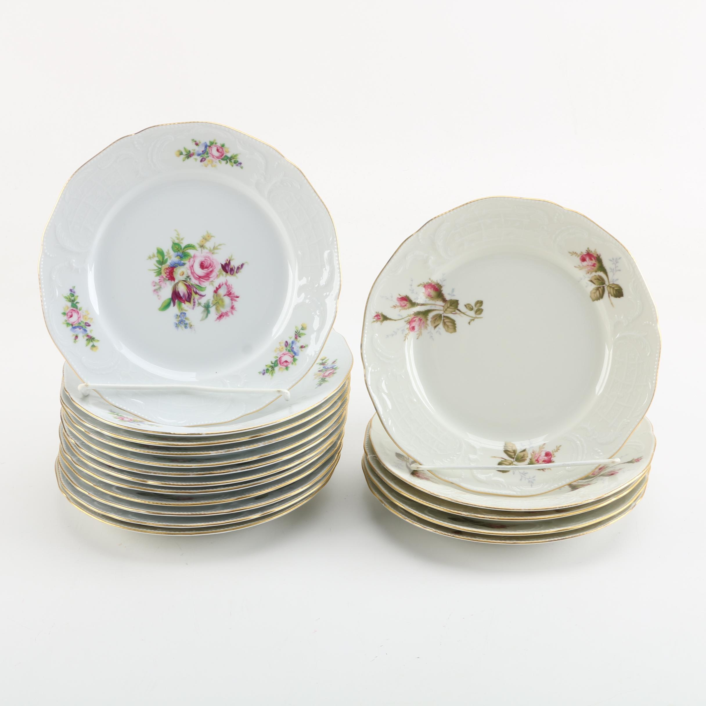 Rosenthal Classic Porcelain Salad Plates & Vintage Tableware Auction | Antique Tableware Auctions in Designer ...