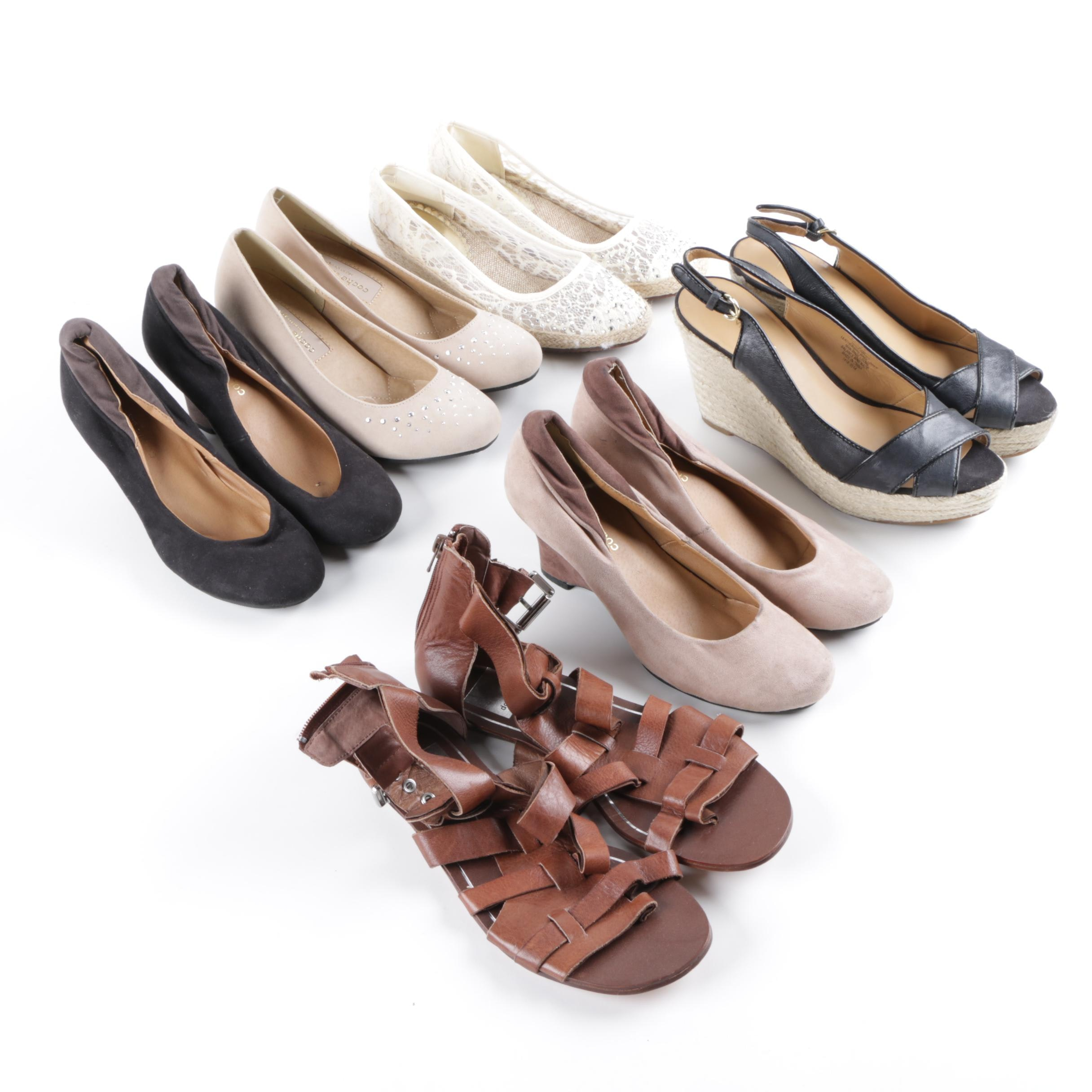 Women's Contemporary Pumps and Wedges Including Coche et Coche and Dolce Vita