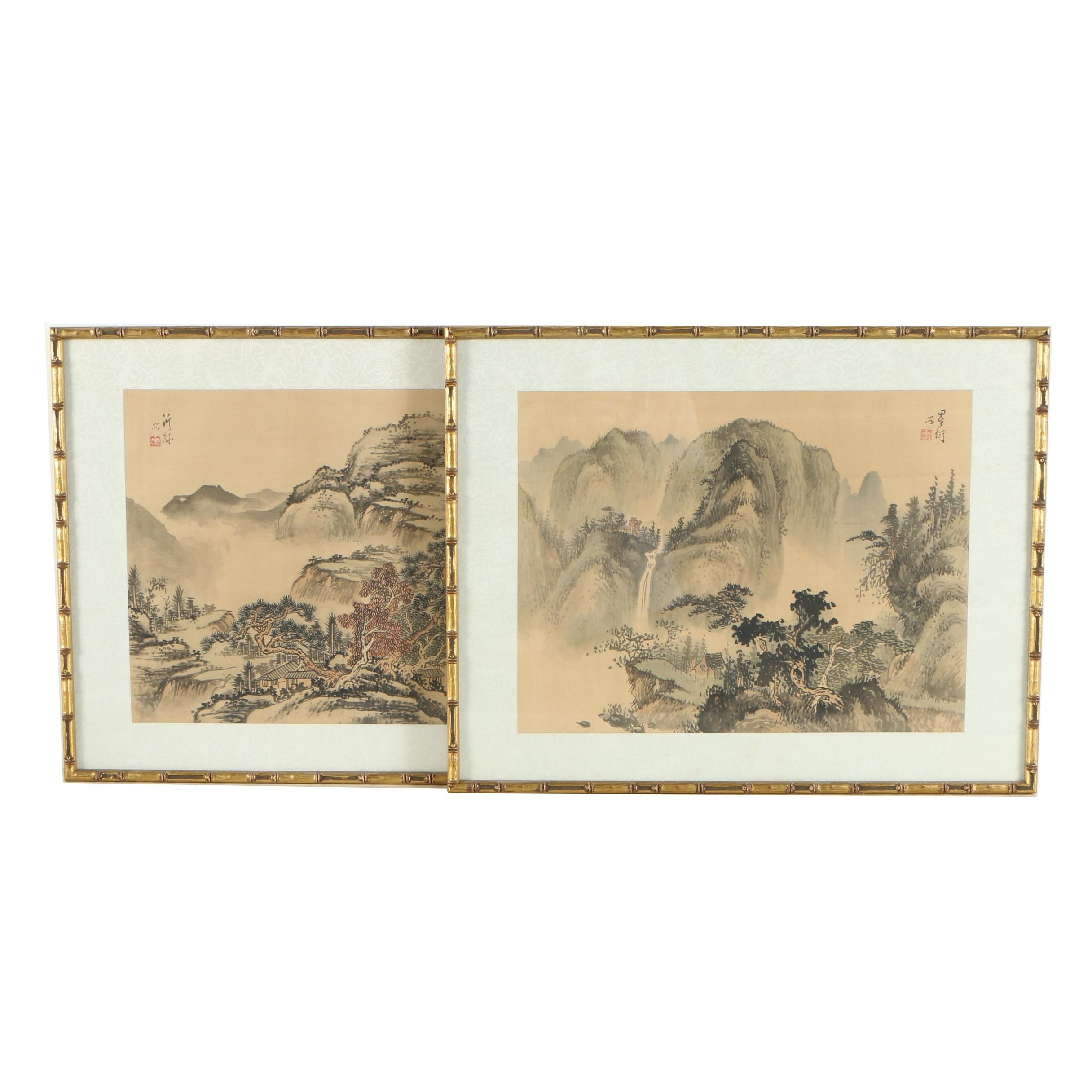 Chinese Ink Wash Paintings