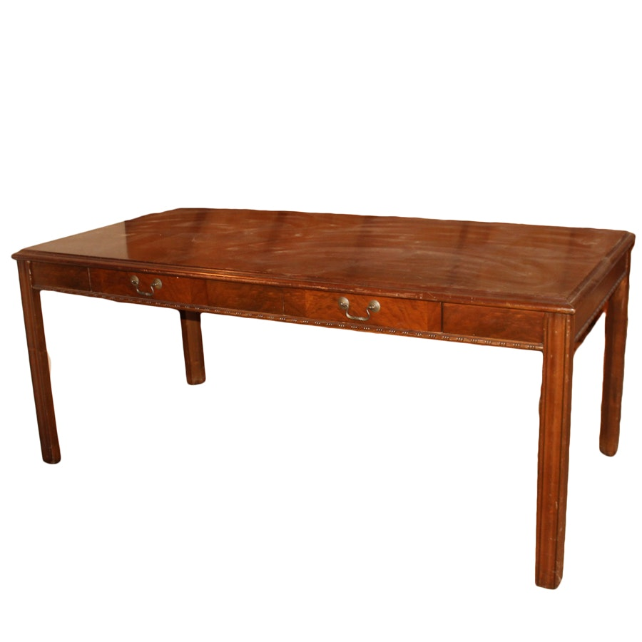 Chinese Chippendale Style Writing Table