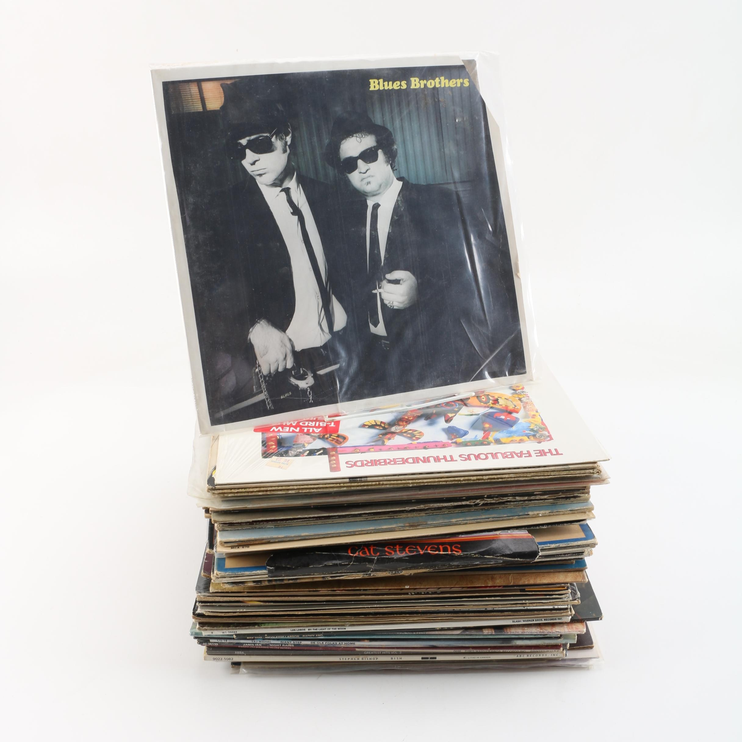 Pop and Rock Records Including Janis Joplin, Tom Petty, Traffic, Kenny Loggins