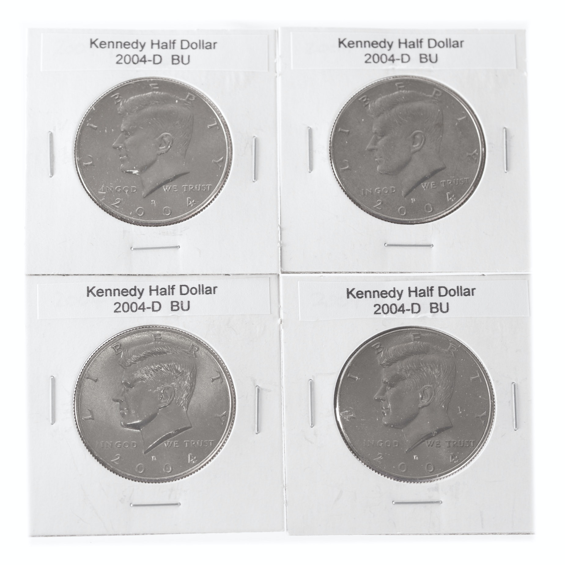 2004 D Uncirculated Kennedy Half Dollar Coins