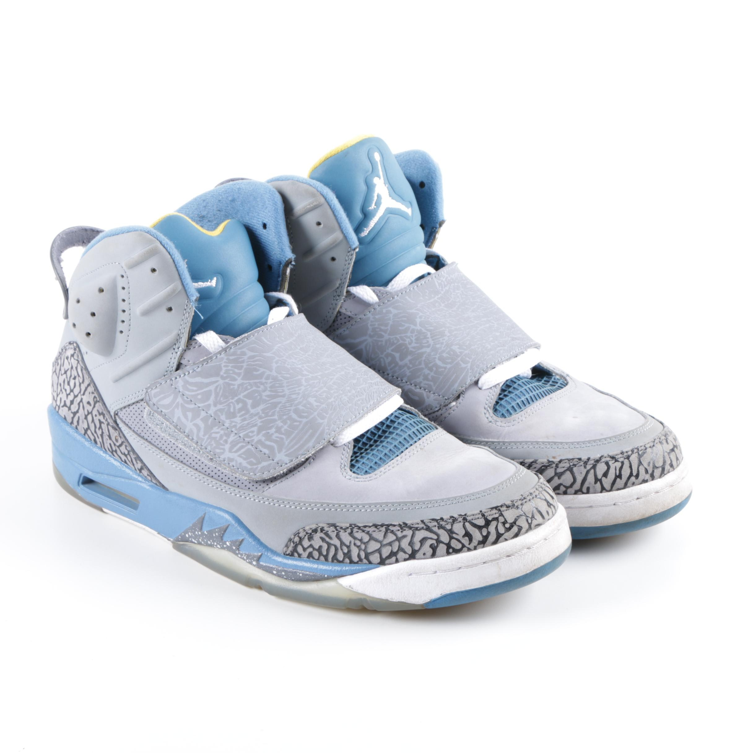 Men's Nike Air Jordan Son of Mars Grey Basketball Sneakers