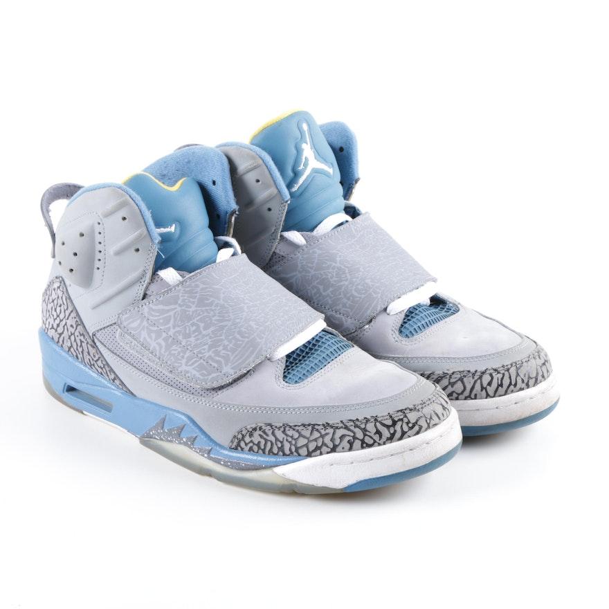 promo code 63ca4 3f6fe Men s Nike Air Jordan Son of Mars Grey Basketball Sneakers   EBTH