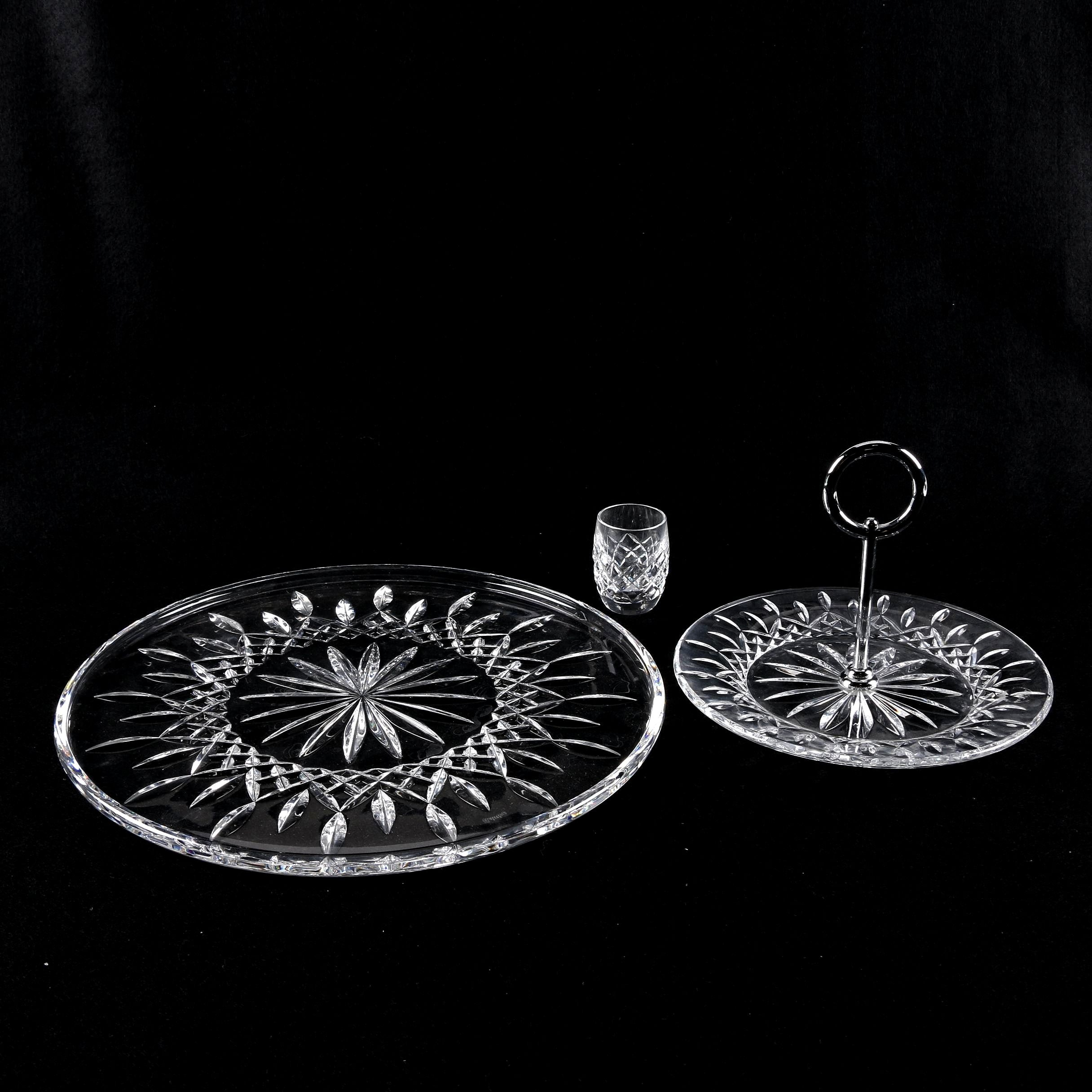 "Waterford Crystal ""Lismore"" Tableware and ""Alana"" Shot Glass"