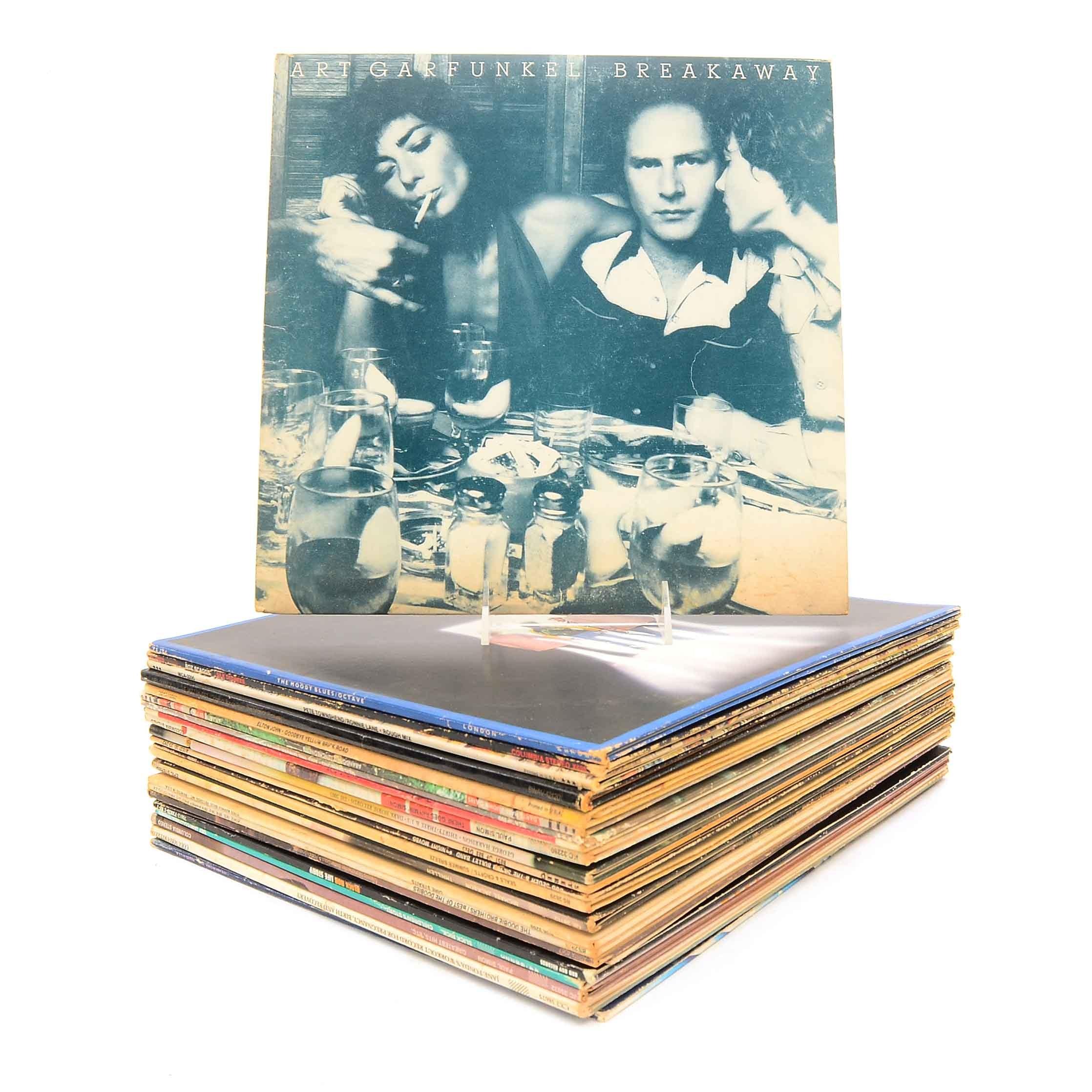 Collection of Twenty-Five LP Records