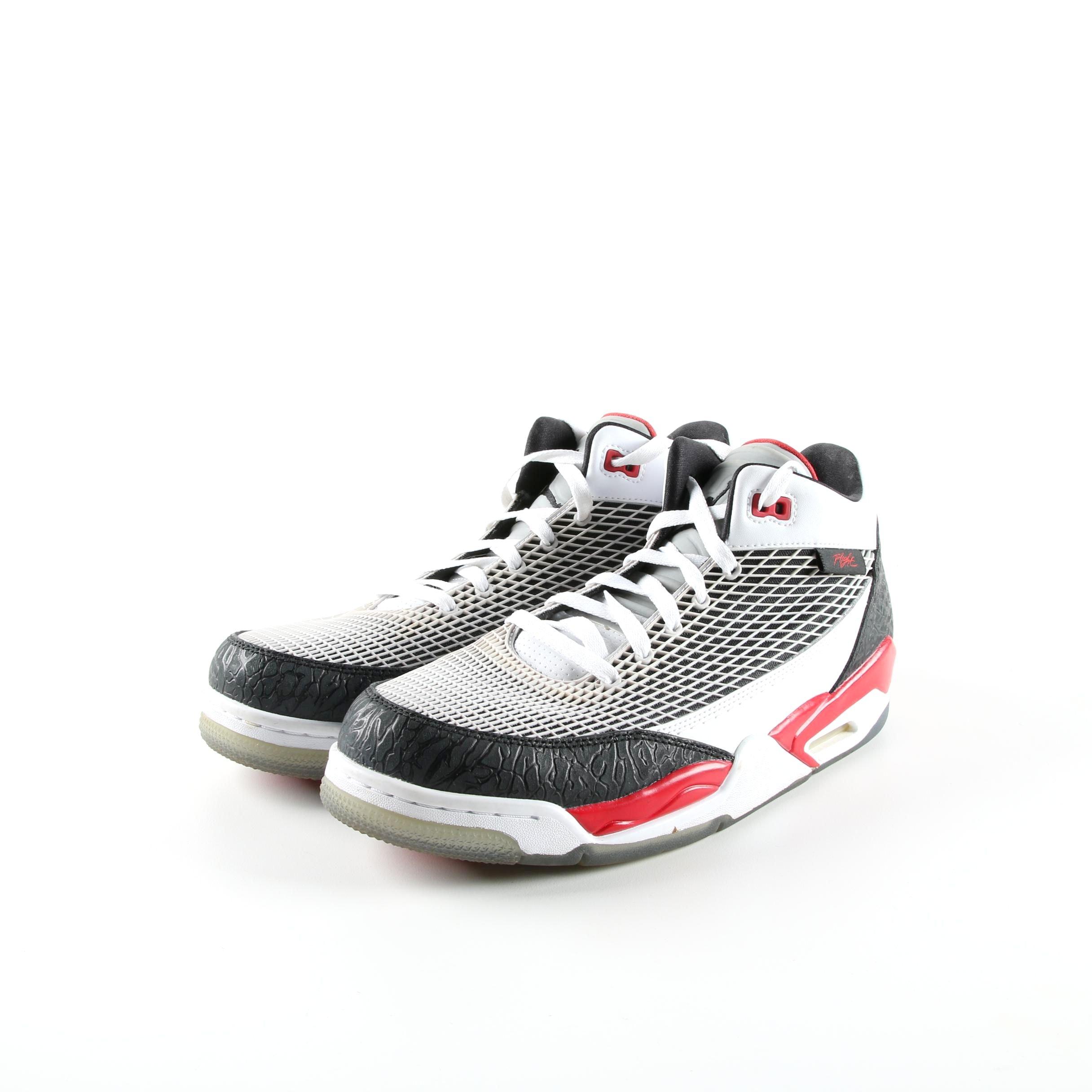 Men's Nike Air Jordan Flight Club 80s Basketball Sneakers