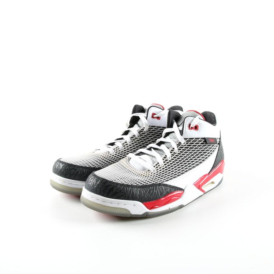 70190721462 Men s Nike Air Jordan Flight Club 80s Basketball Sneakers   EBTH