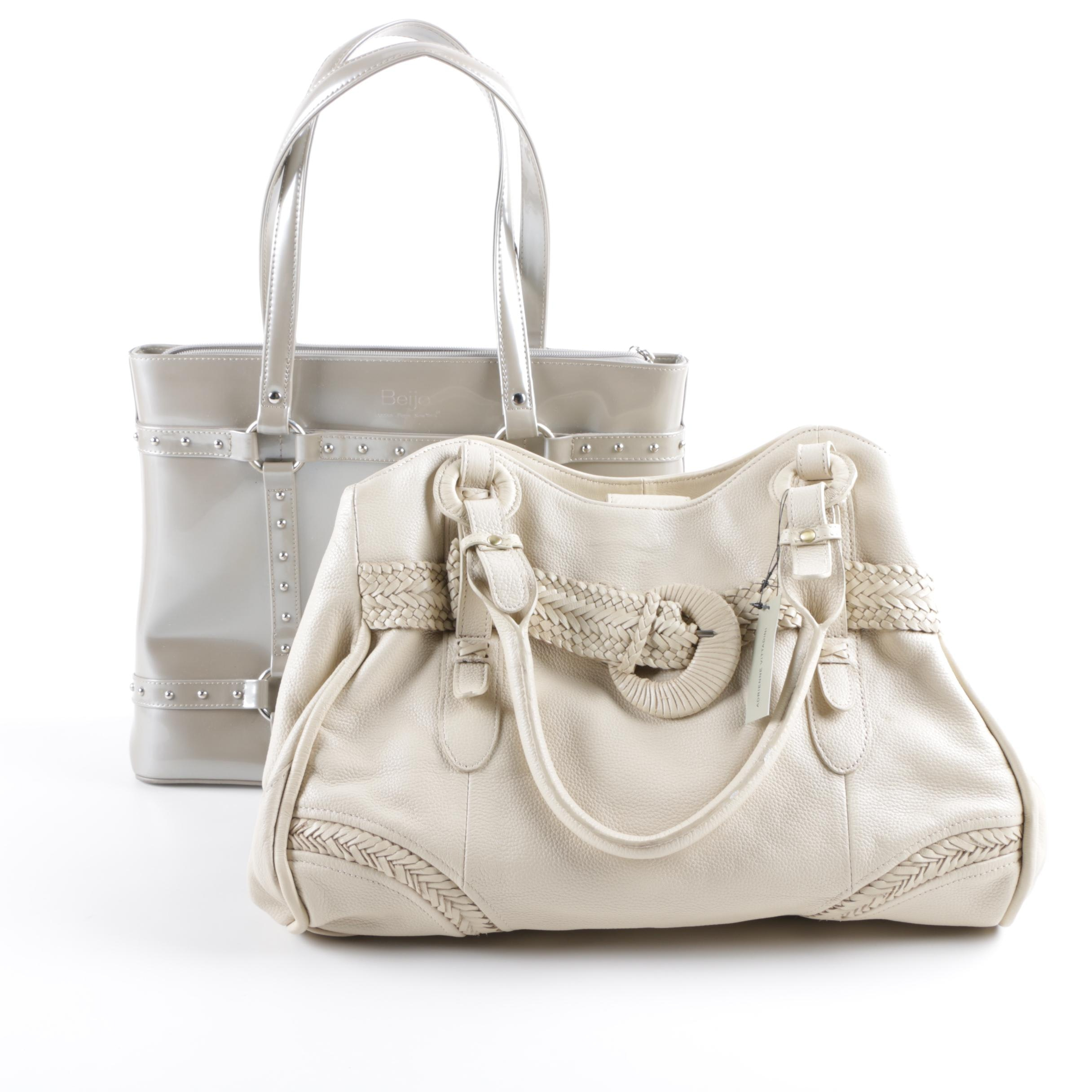 Adrienne Vittadini Hobo Bag and Beijo Tote Bag