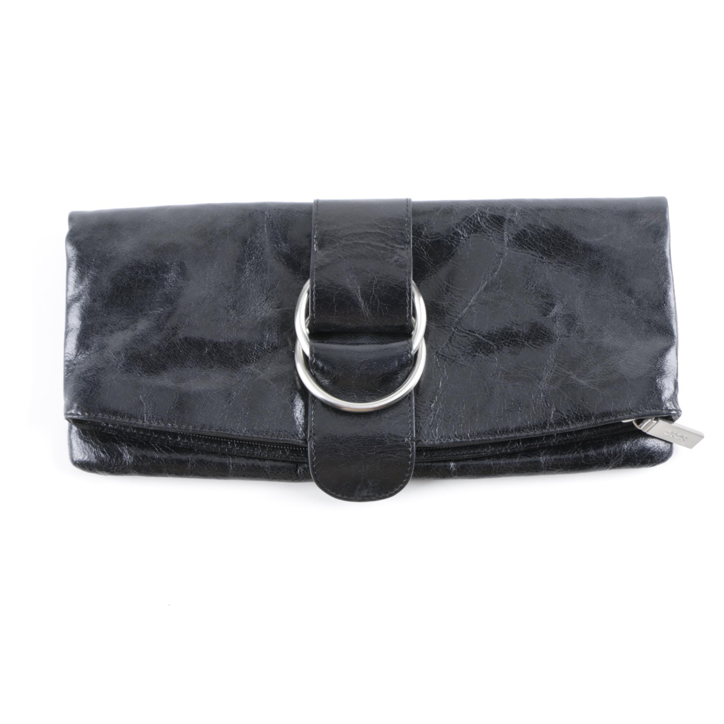 Hobo International Black Leather Wallet