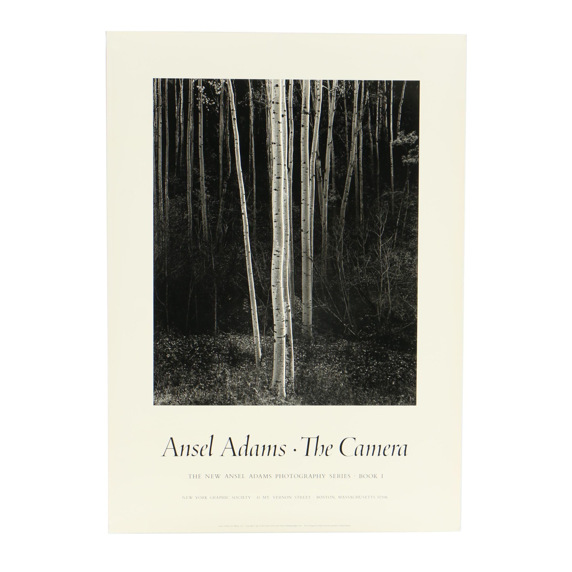 "Art Poster ""Ansel Adams: The Camera"""