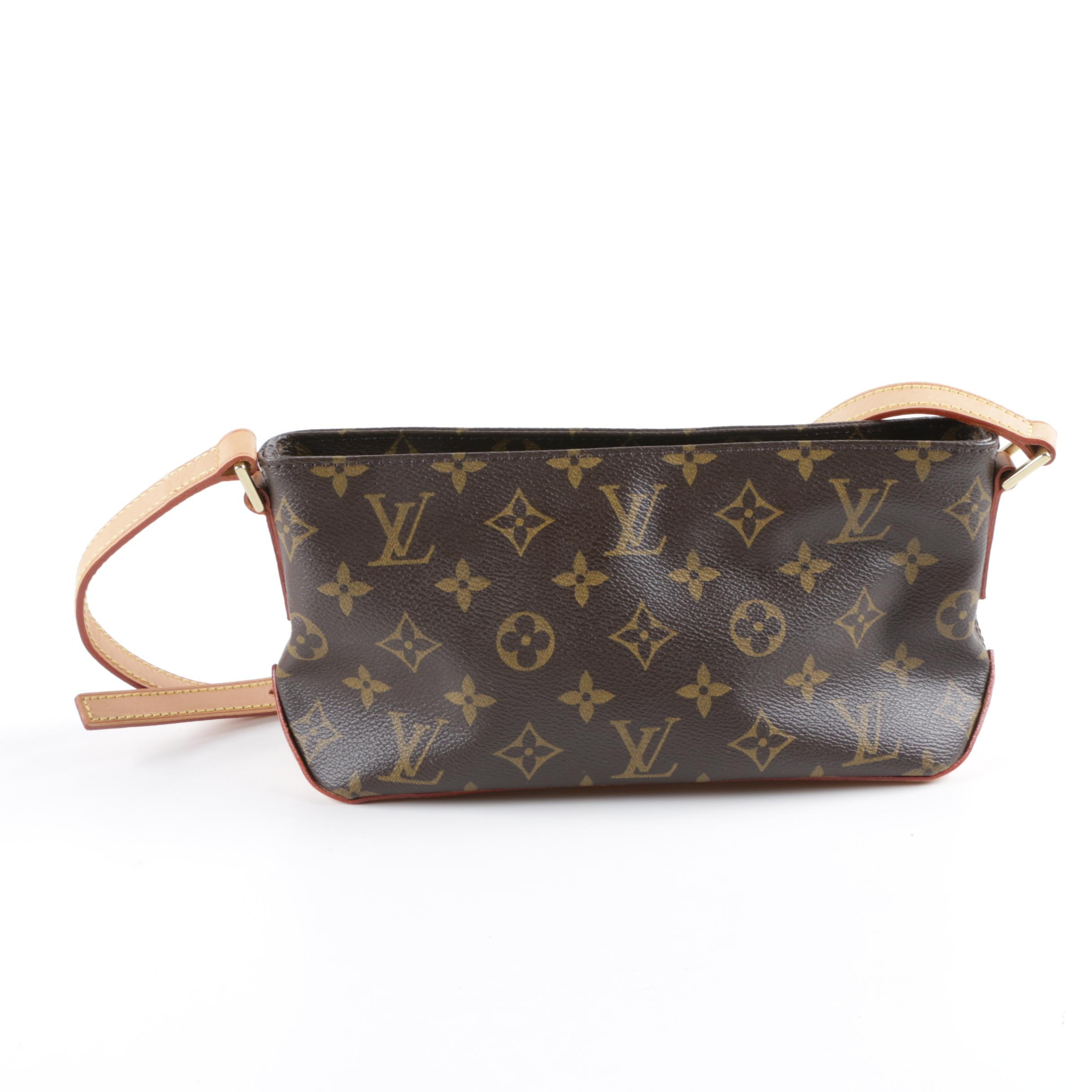 Louis Vuitton of Paris Monogram Trotteur Crossbody Bag